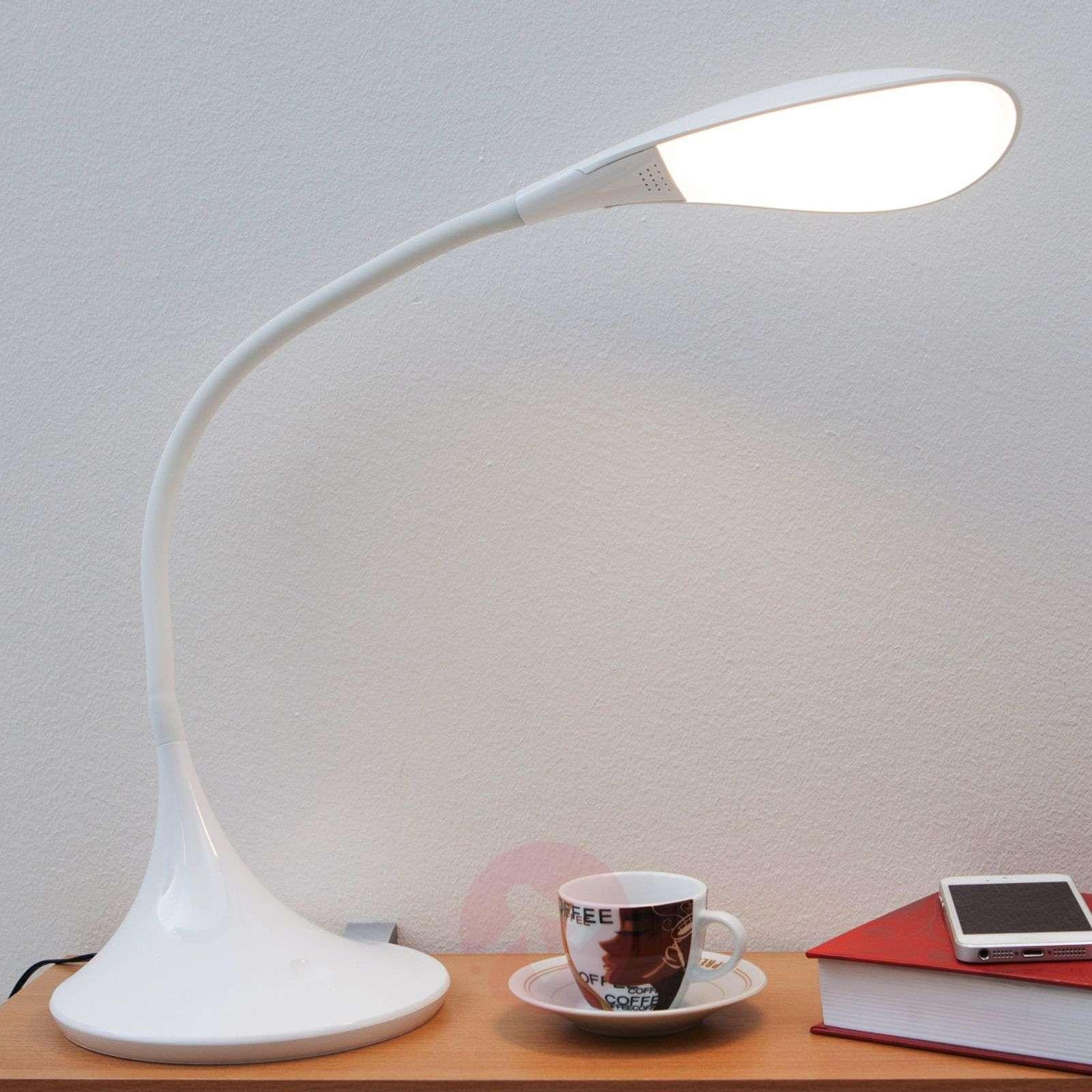 Josia himmennettävä LED-työpöytävalaisin valk.-9643002-01