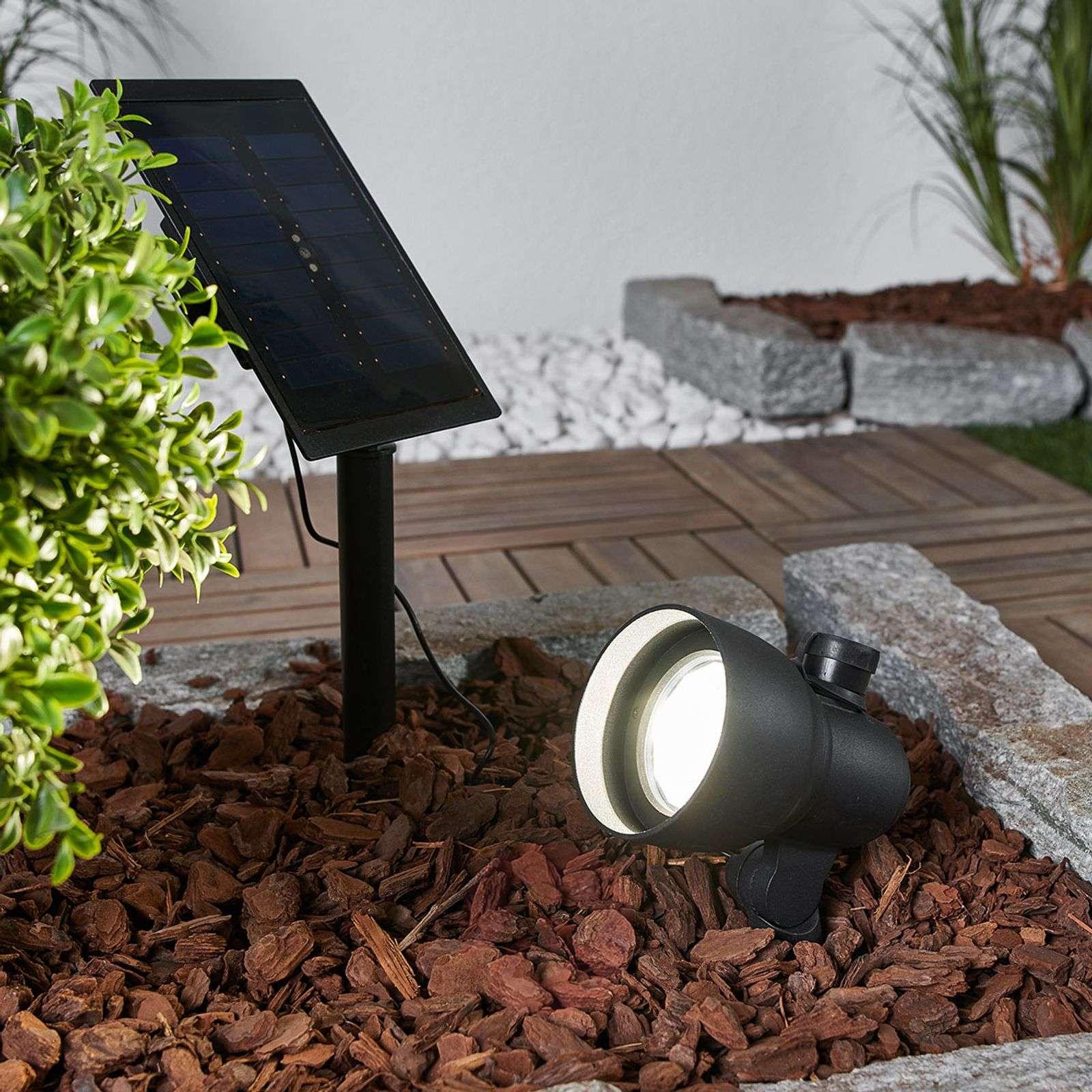 Joustava aurinkokäyttöinen LED-spottivalo Soey-2610009-02