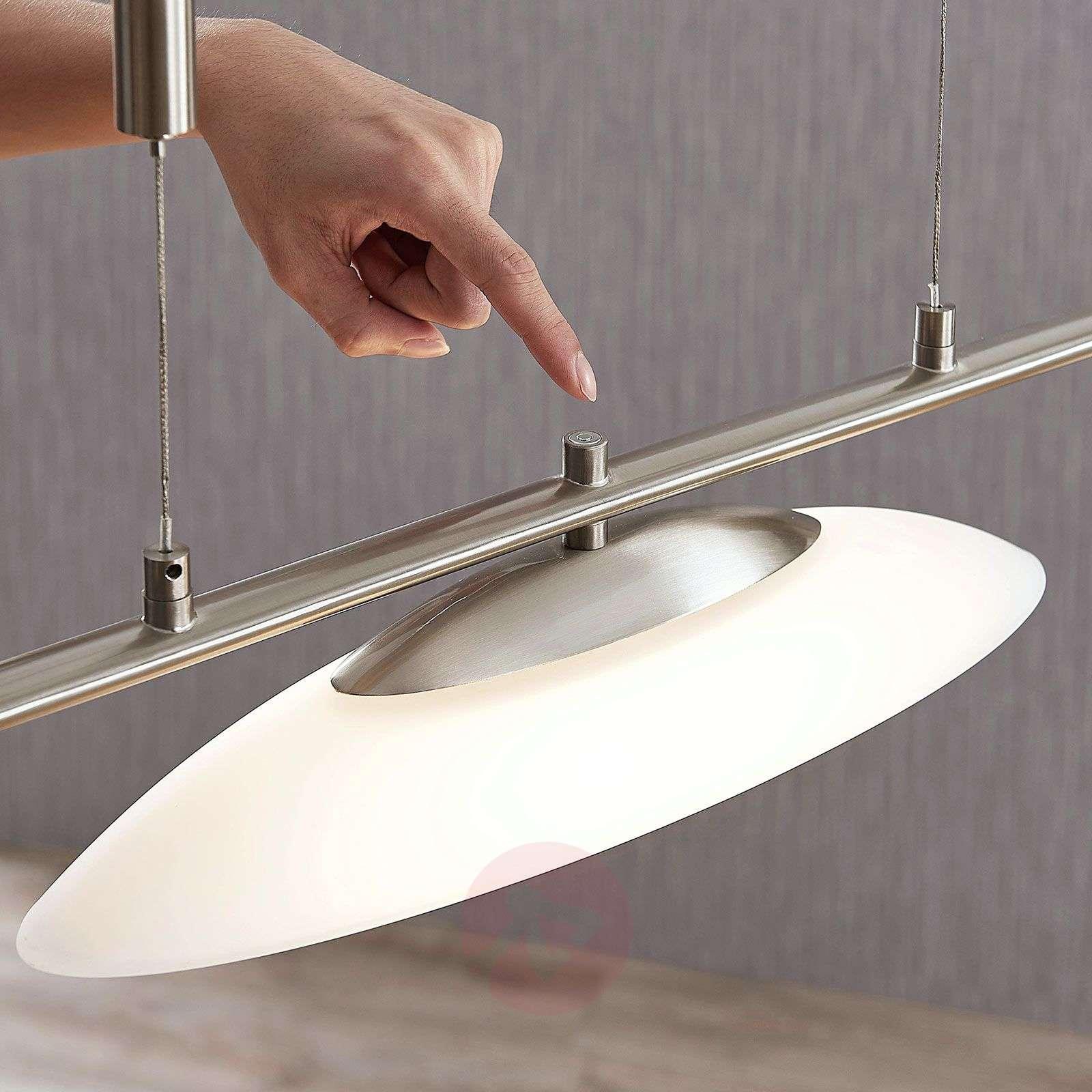 Judie 3-lamppu-LED-riippuvalaisin, himmennin-9621307-02