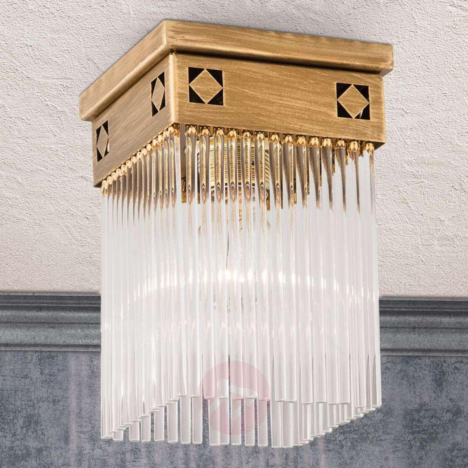 Jugendtyylinen Frieda-kattovalaisin, 1-lamppuinen-7255203-01