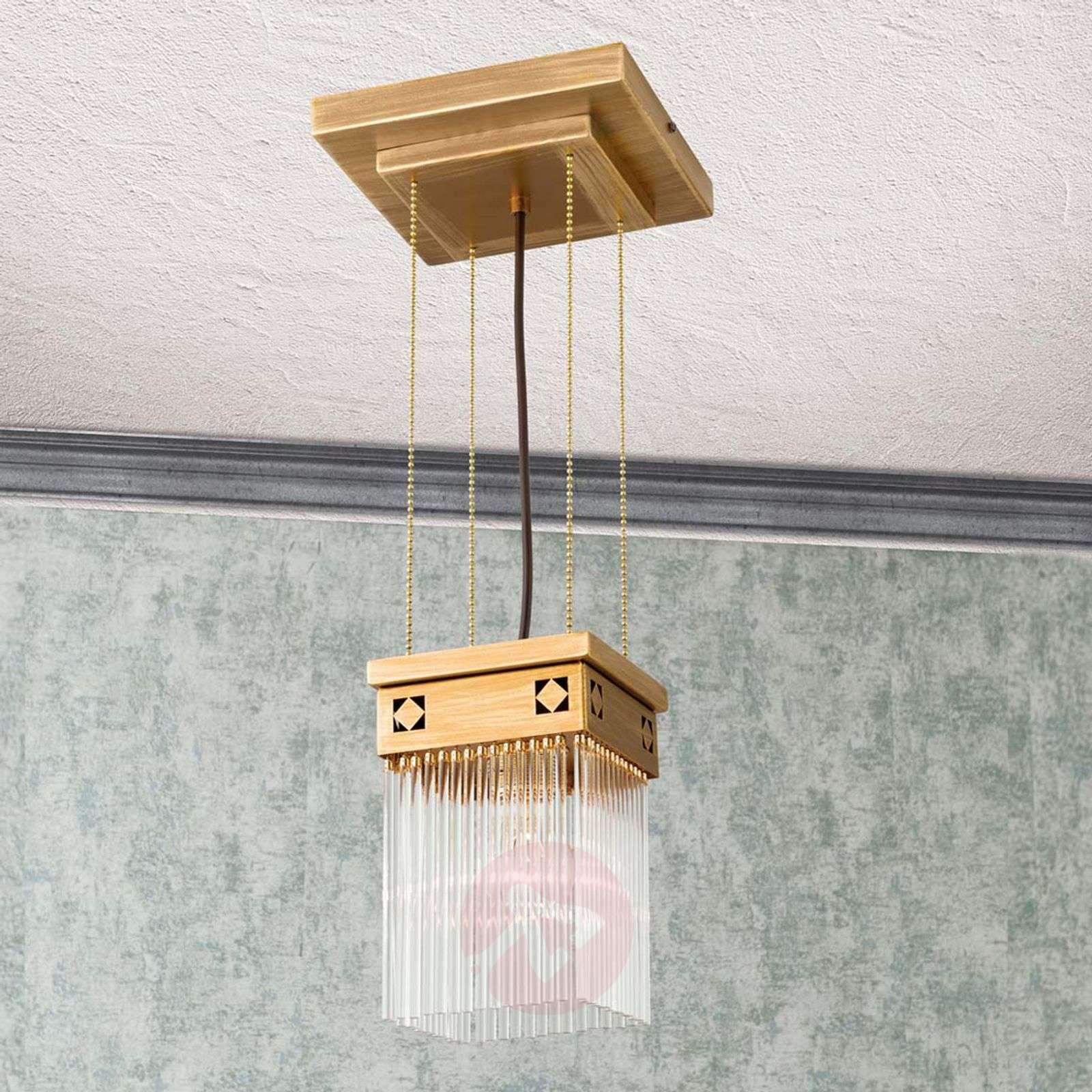 Jugendtyylinen Frieda-riippuvalaisin, yksilamp.-7255205-01