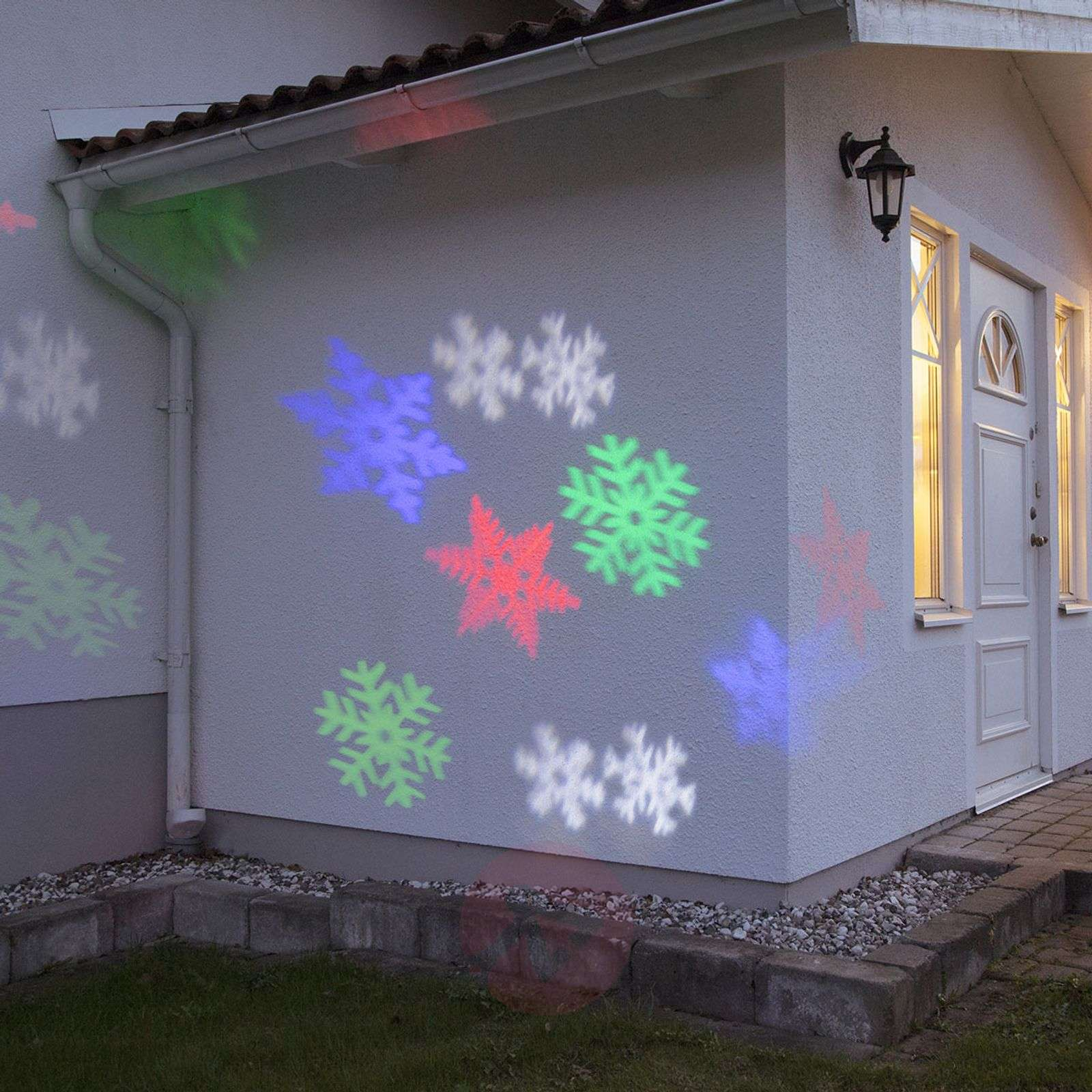 Julkisivu-koristevalaisin LED-projektori LEDLIGHT-1523456-01