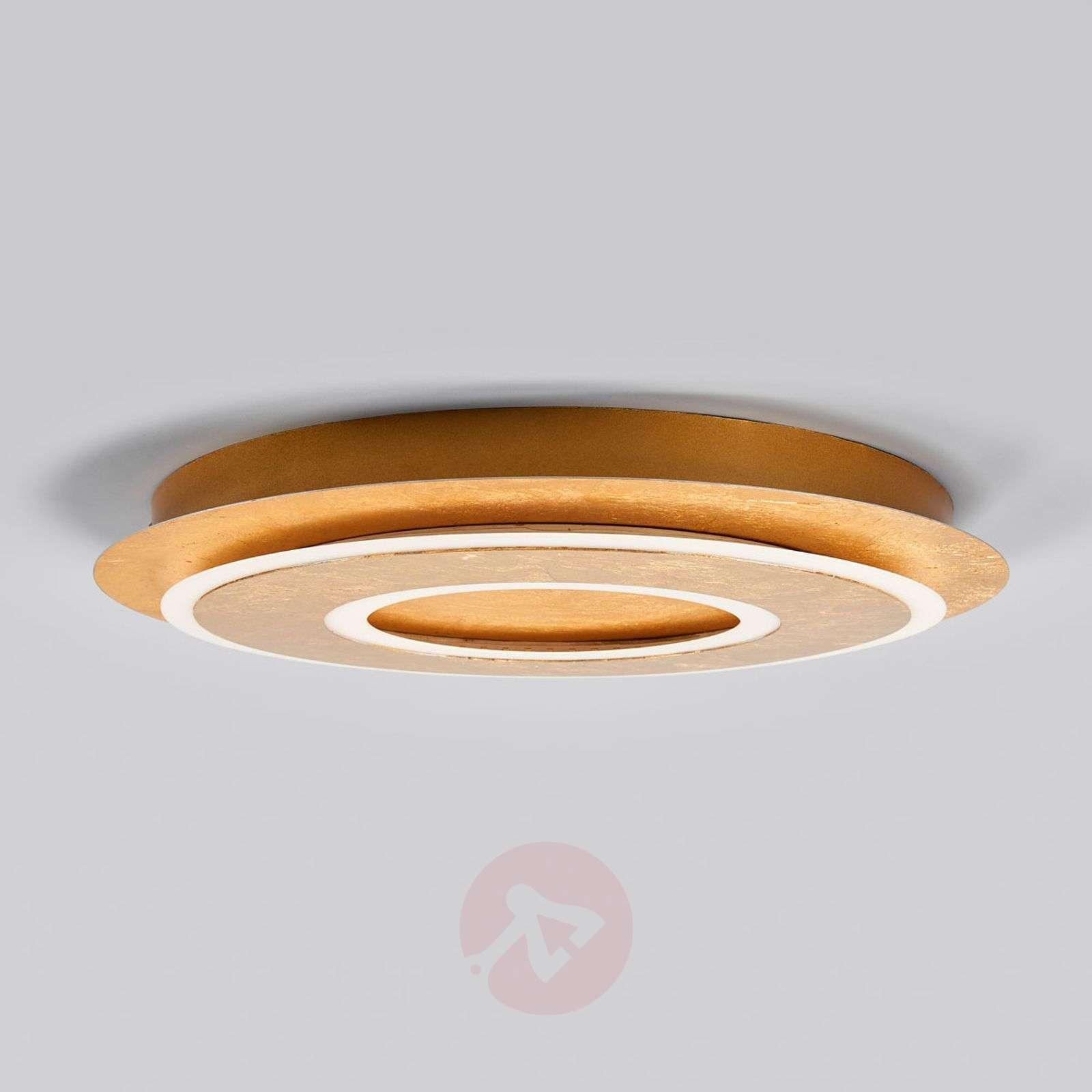 Juran pyöreä, kullanvärinen LED-kattolamppu-9994134-02