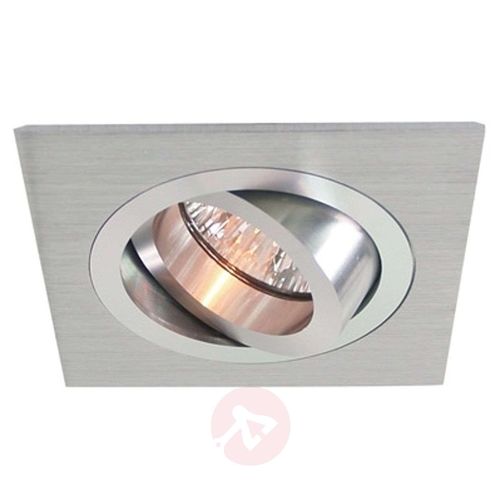 Käännettävä alumiiniasennusrengas, 9,2x9,2cm alu-2501076-01
