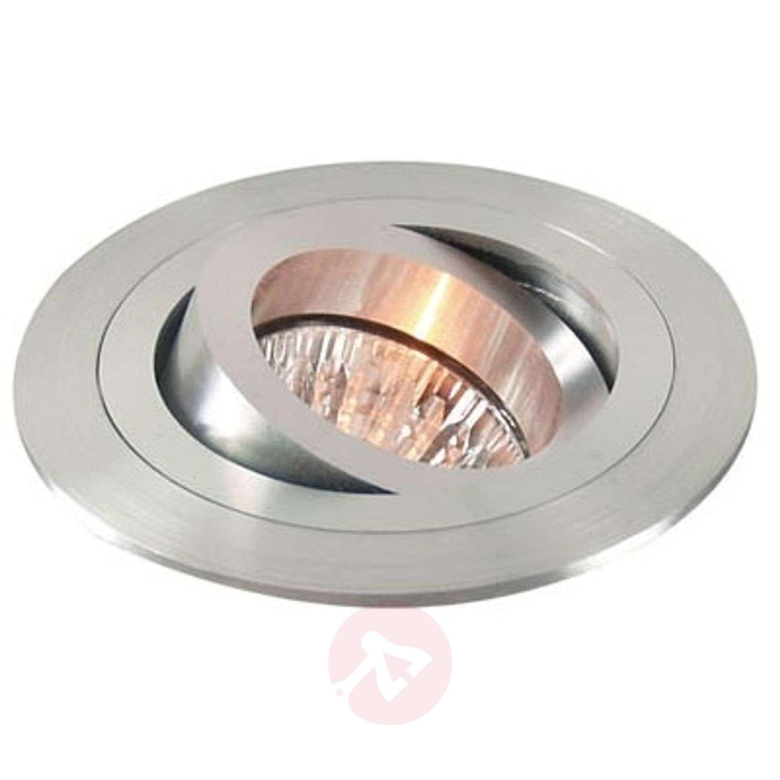 Käännettävä alumiininen uppospotti, matta alumiini-2501071-01