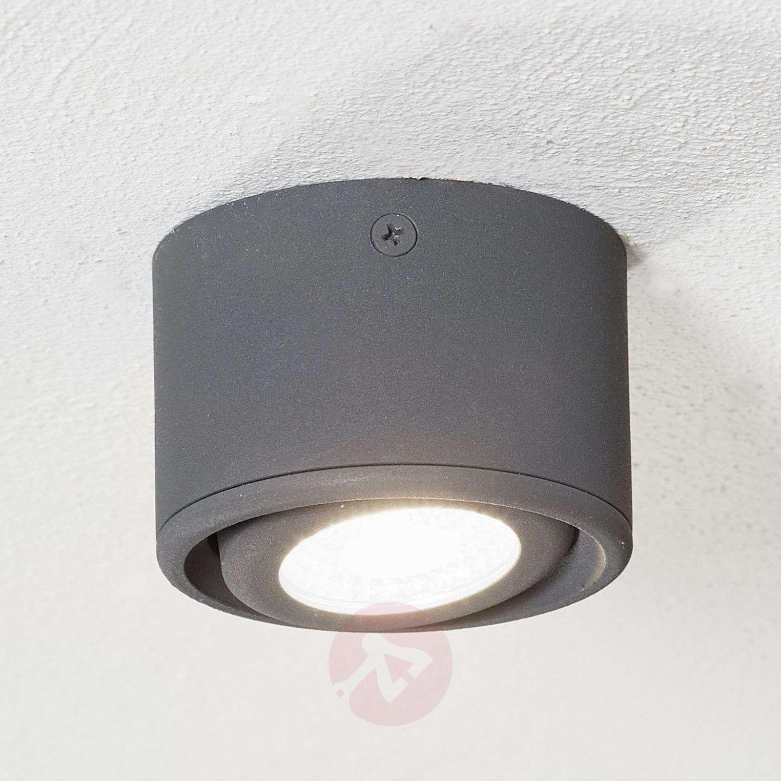 Käännettävä pää LED-alasvalo Anzio, antrasiitti-3502660-03