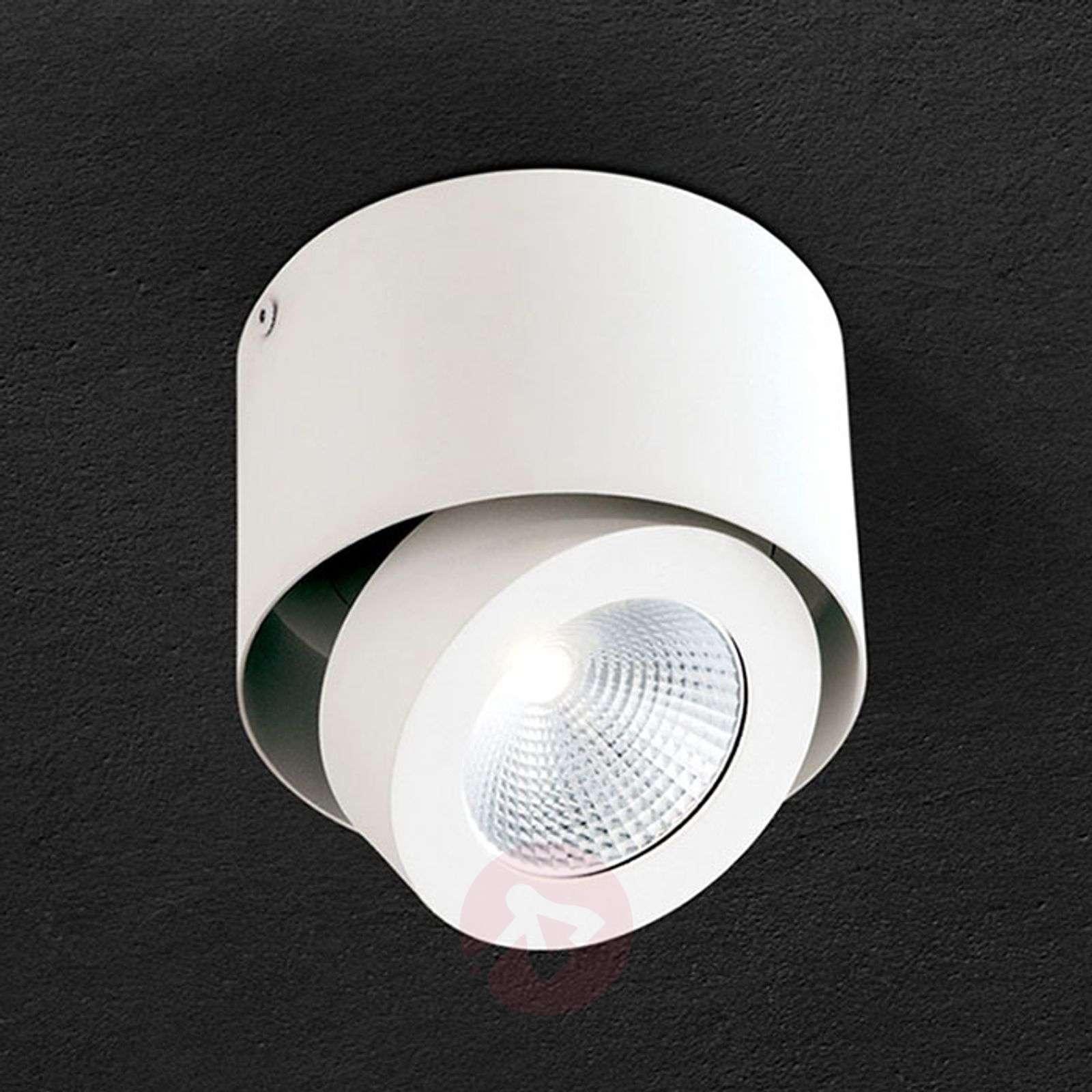 Kääntyvä LED-spotti Meno valkoisena, himmennettävä-7255361-01