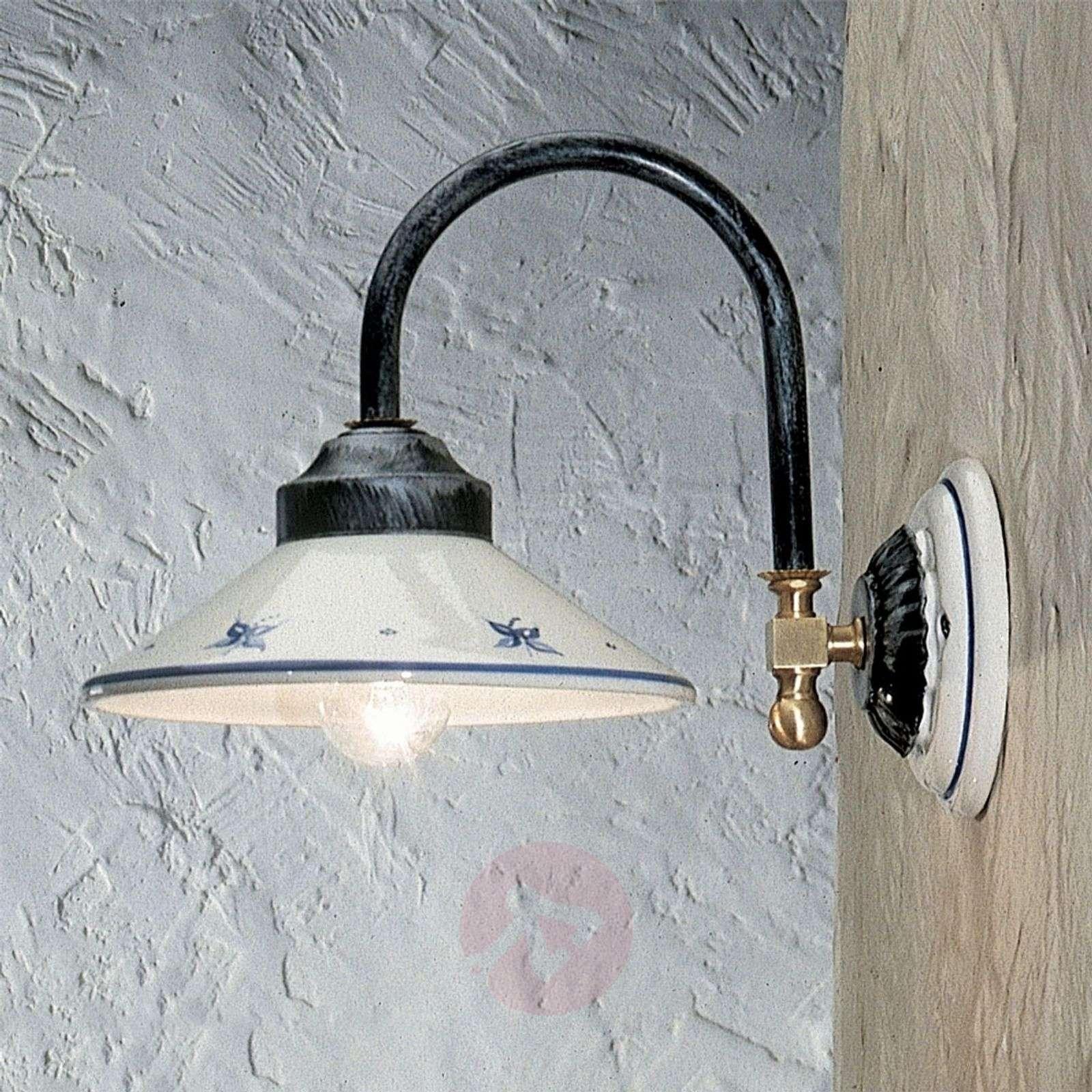 Käsinmaalattu Rustico-seinävalaisin-3517003-01