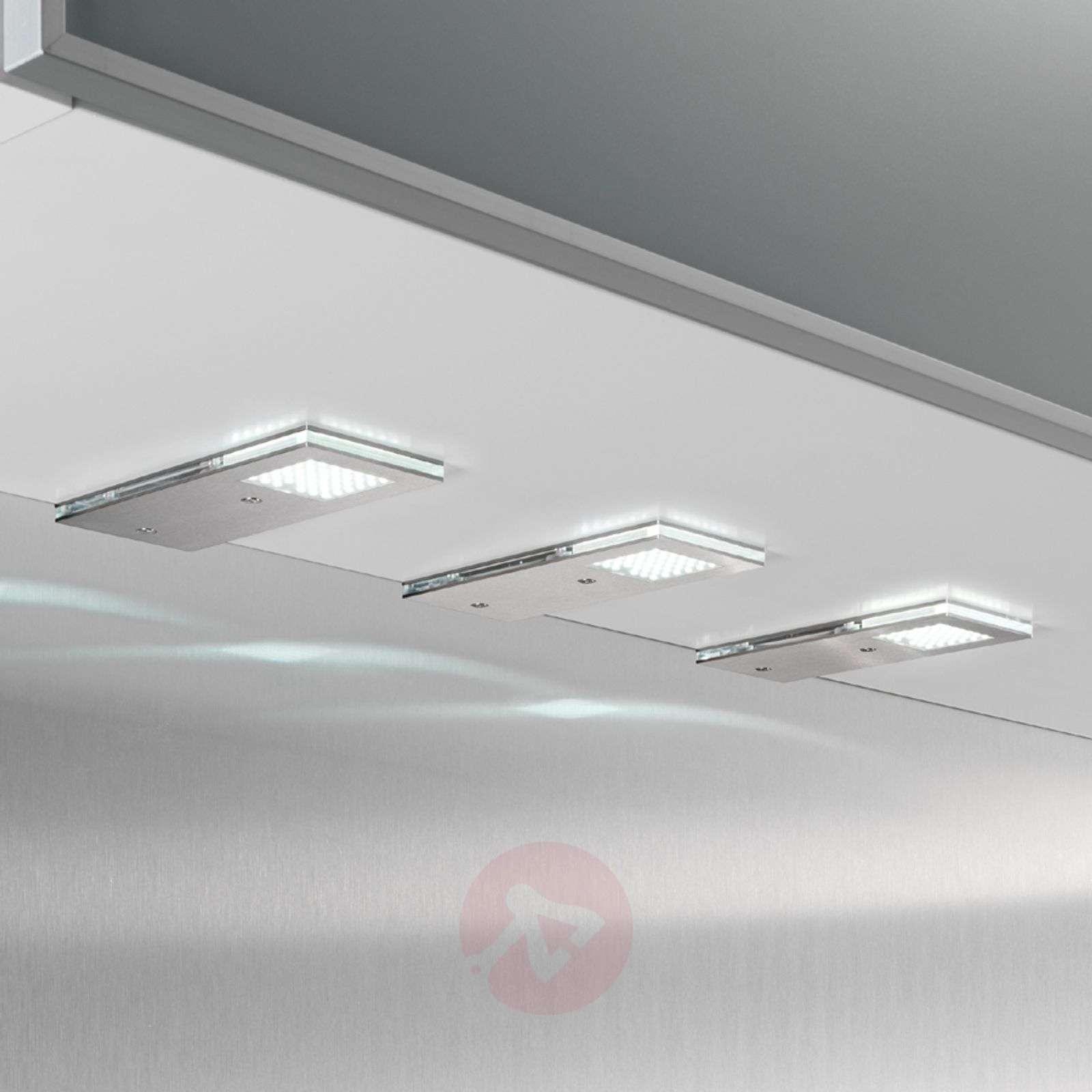 Kätevä Flat I-LED-kaapinalusvalo, 3 kpl setti-3025027-01