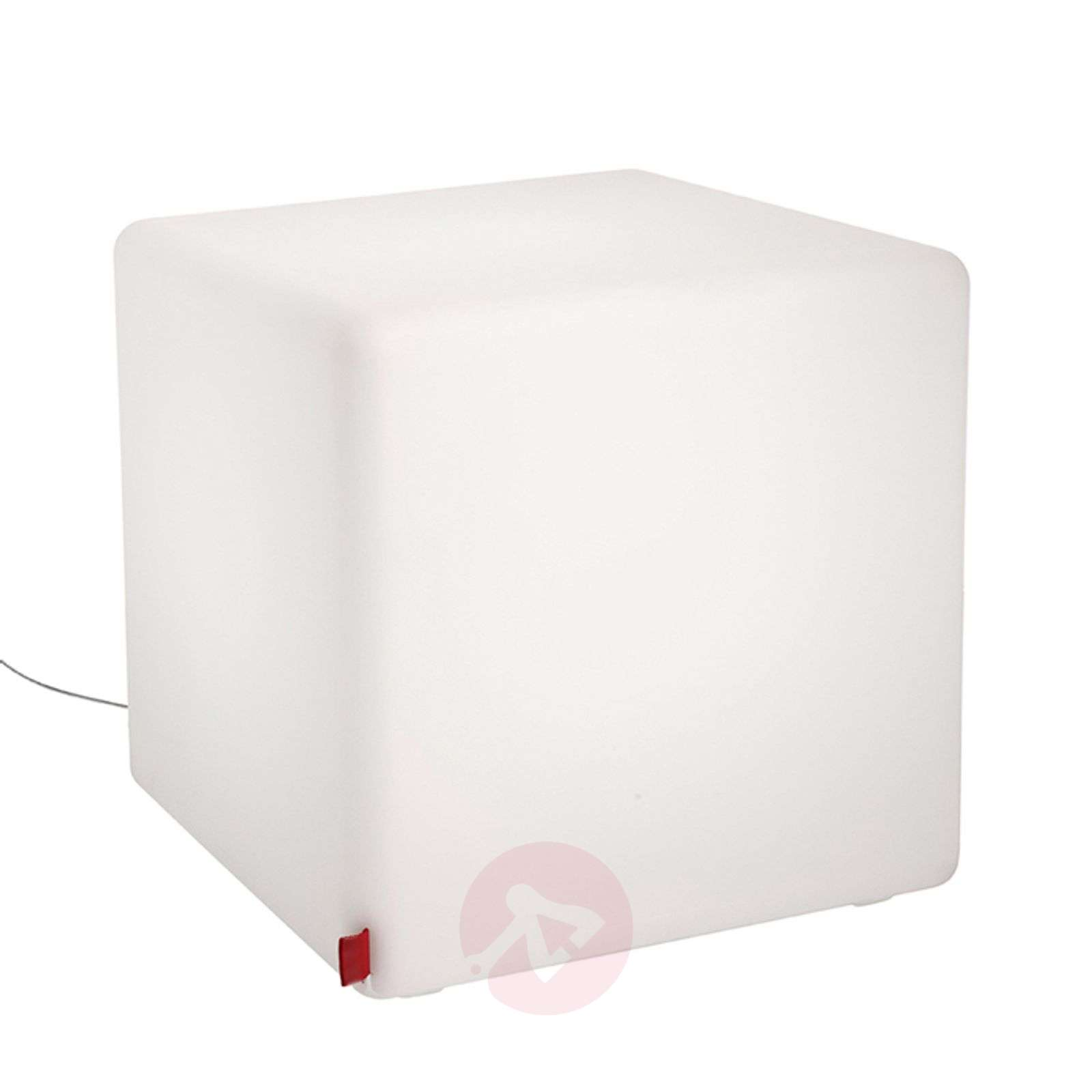 Käytännöllinen koristevalaisin Cube Indoor LED-6537021-01