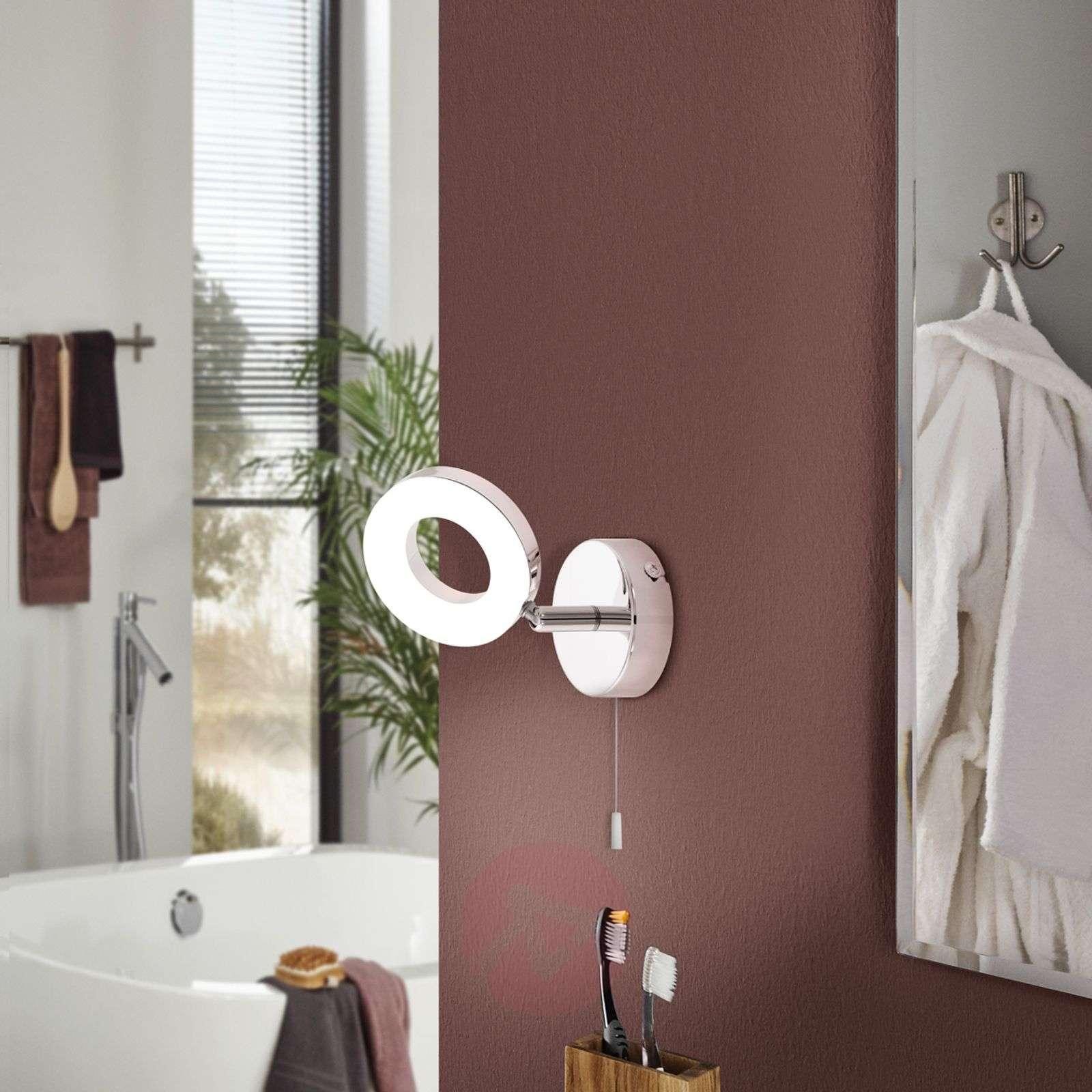 Käytännöllinen LED-seinävalaisin Gonaro kytkimellä-3031851-01