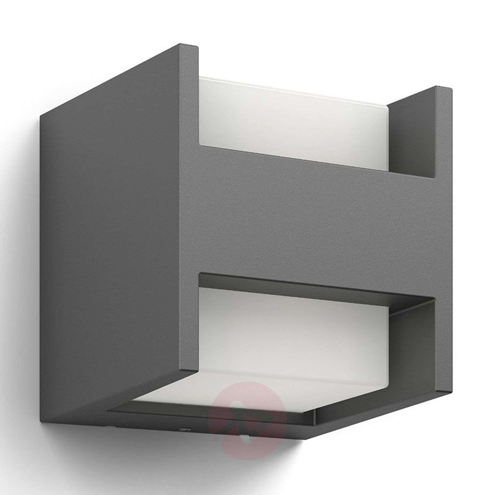 Kahden lampun Arbour-LED-seinävalaisin, IP44-7531799-01
