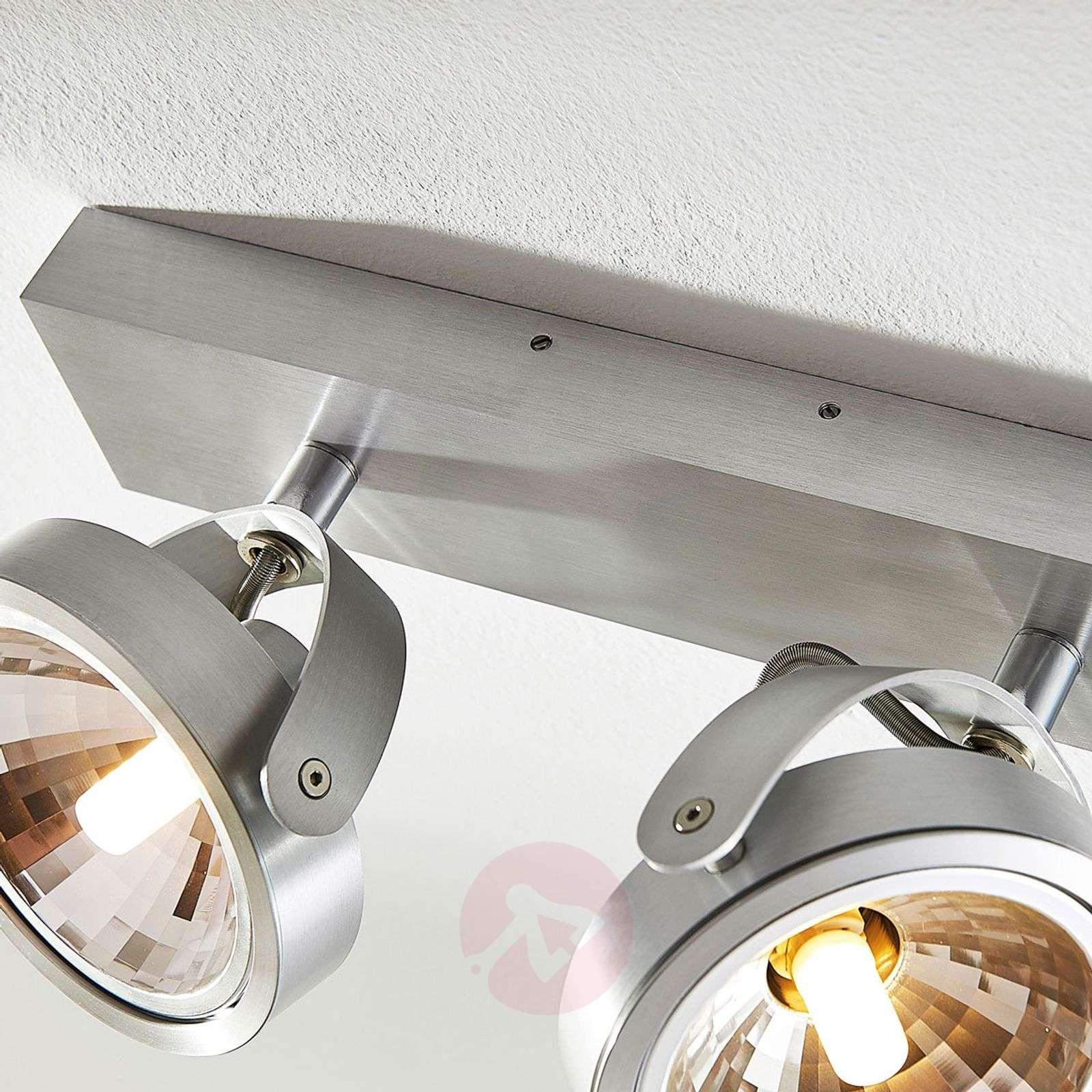 Kaksilamppuinen alumiini kohdevalo Lieven G9-LED-9621520-01