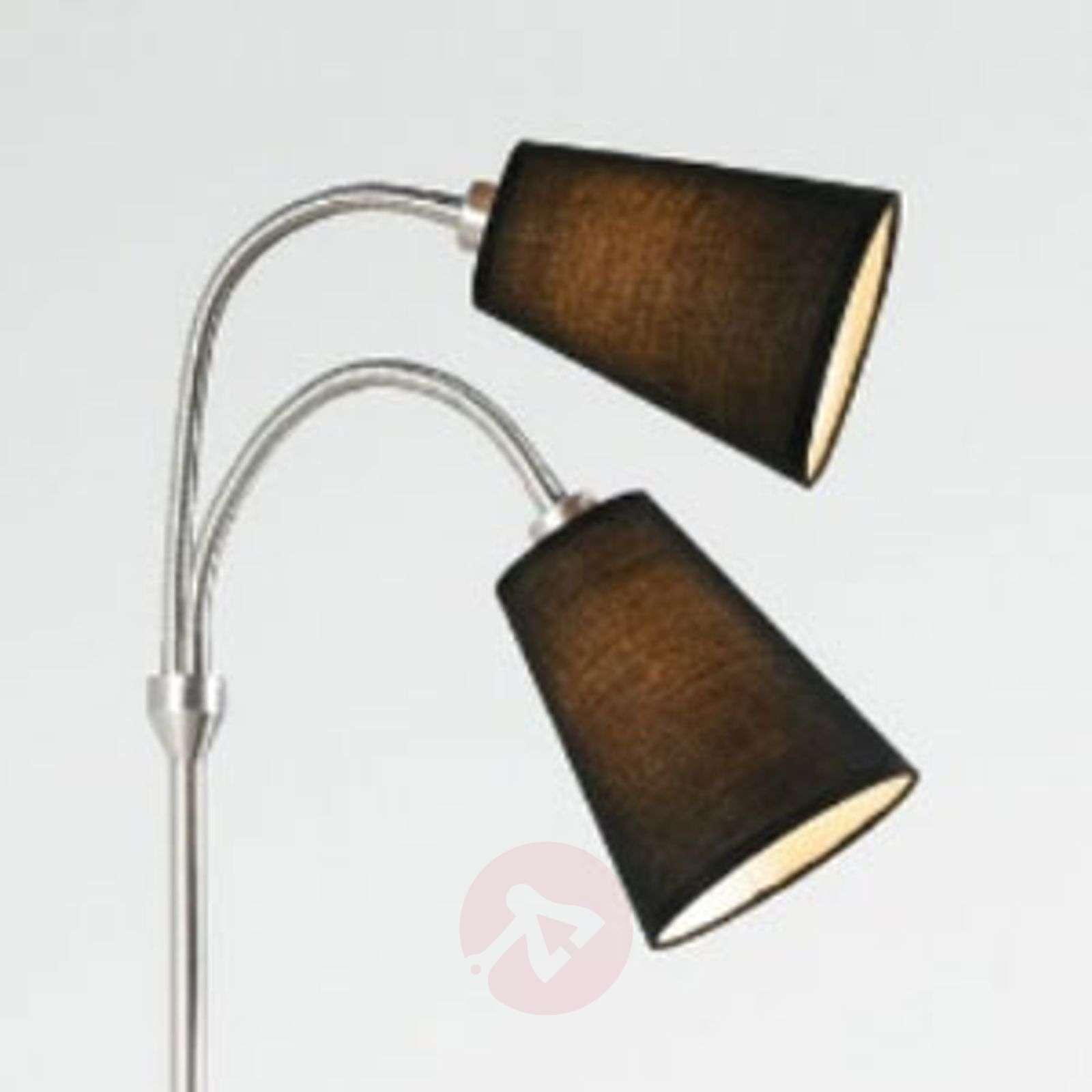 Kaksilamppuinen lattiavalaisin Lelio joustovarsi-7005701-01