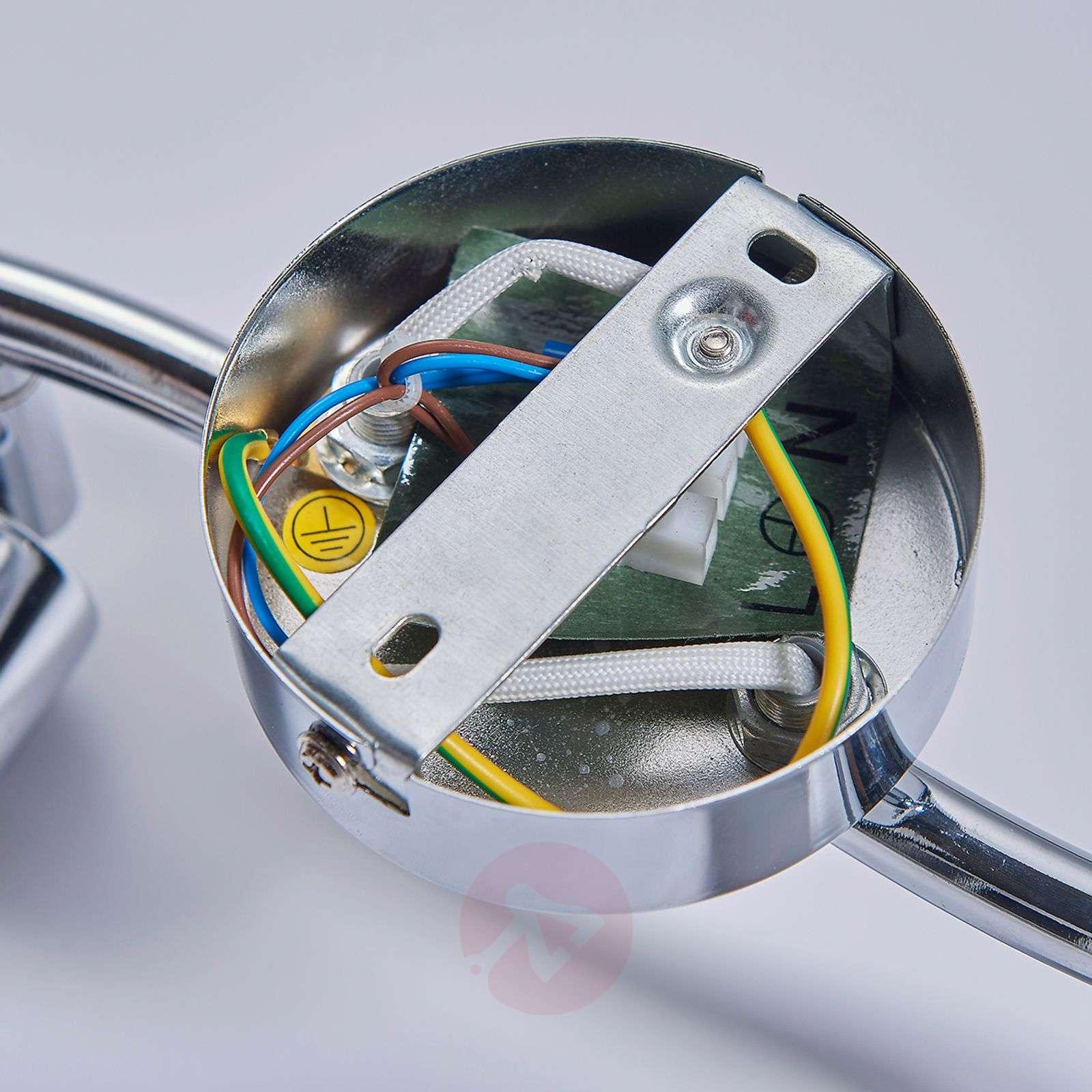 Kaksilamppuinen LED-kattovalaisin Tiam-9620778-04