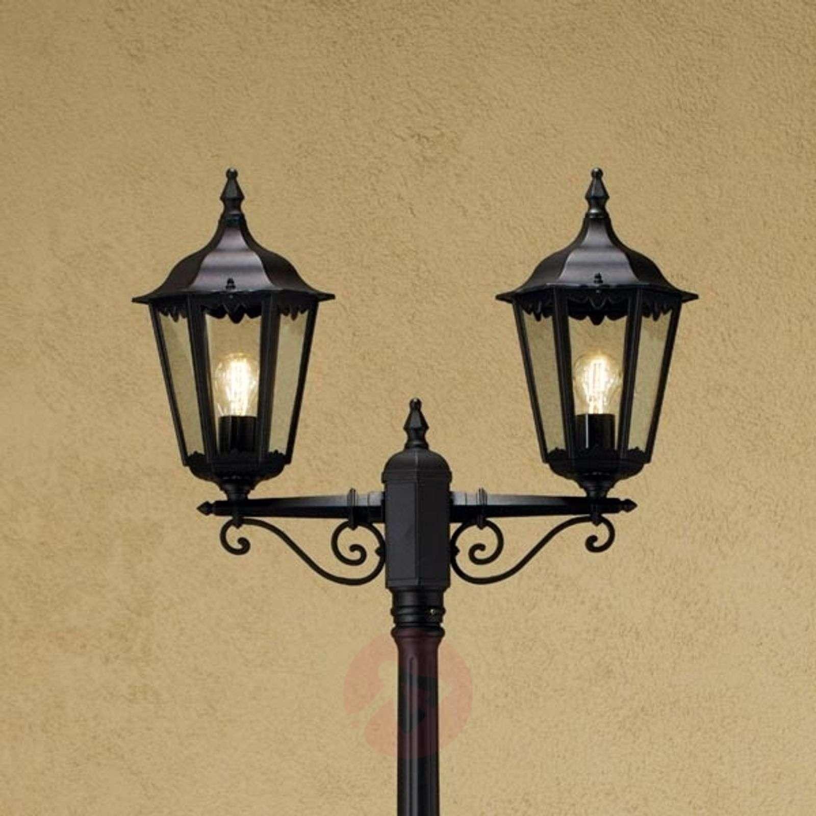 Kaksilamppuinen lyhtypylväs Firenze-5522193X-01