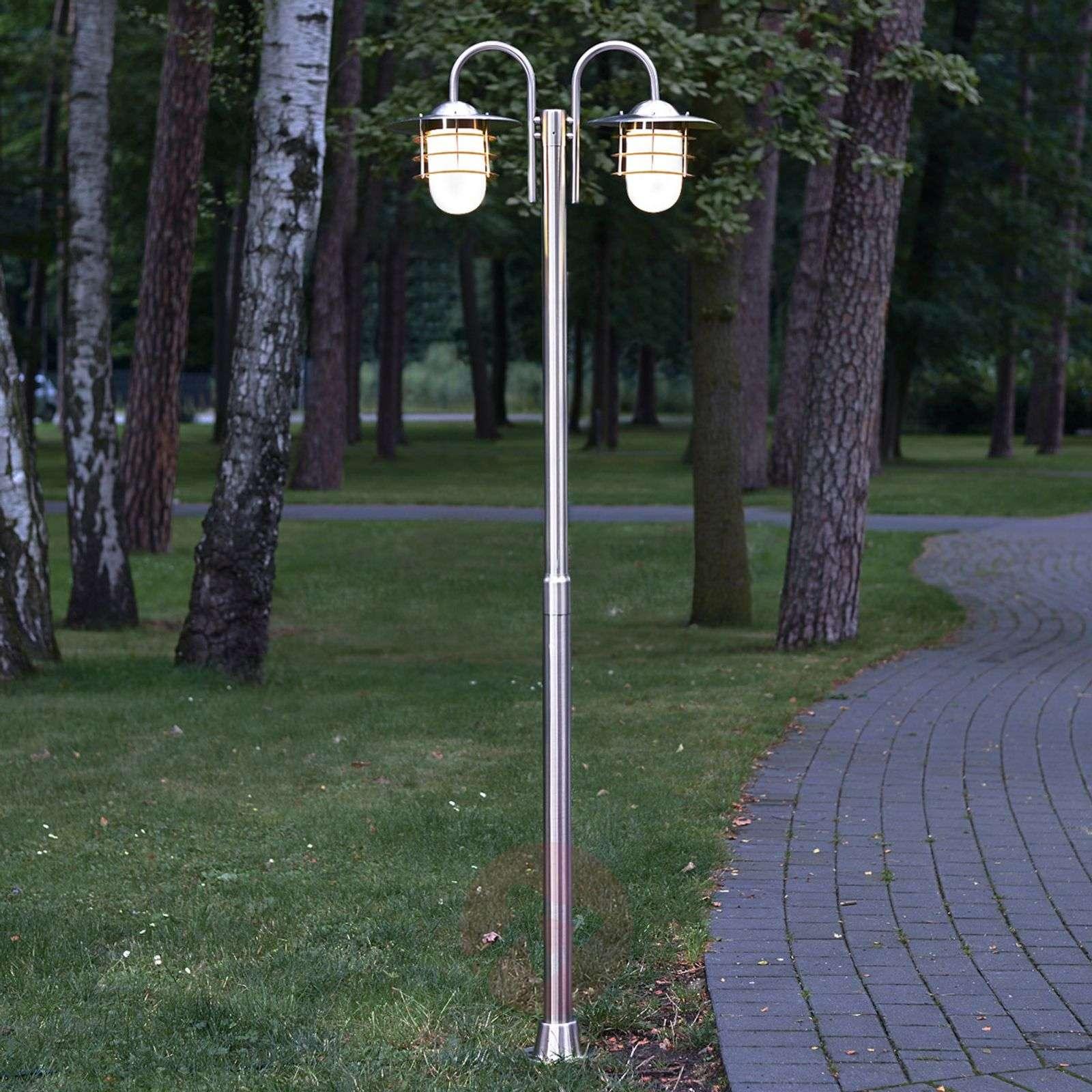 Kaksilamppuinen pylväsvalaisin Mian, rosteri-9960028-01