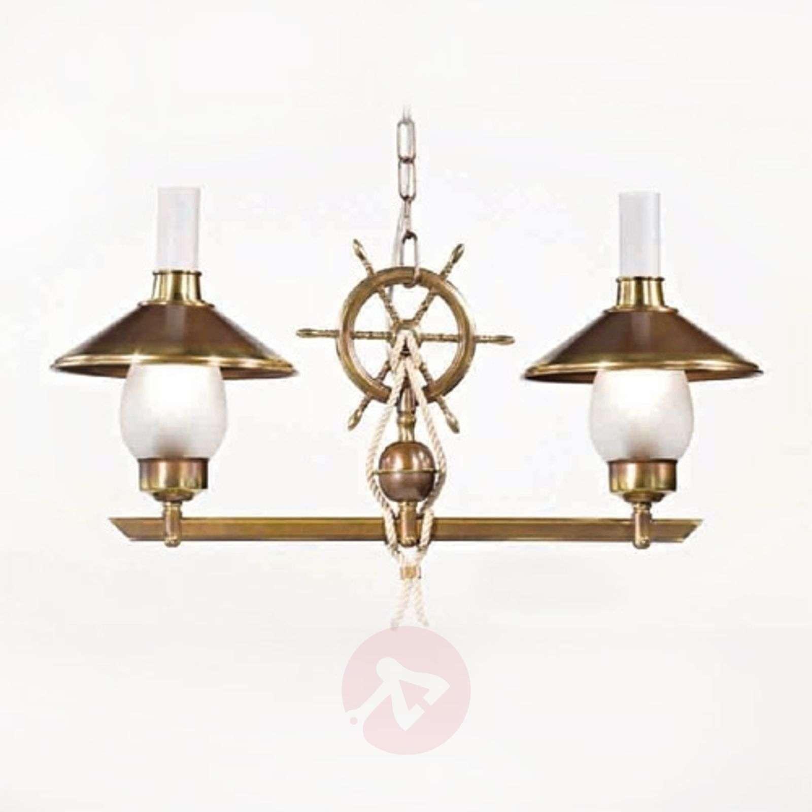 Kaksilamppuinen riippuvalaisin Grecale, ruori-2008129-01