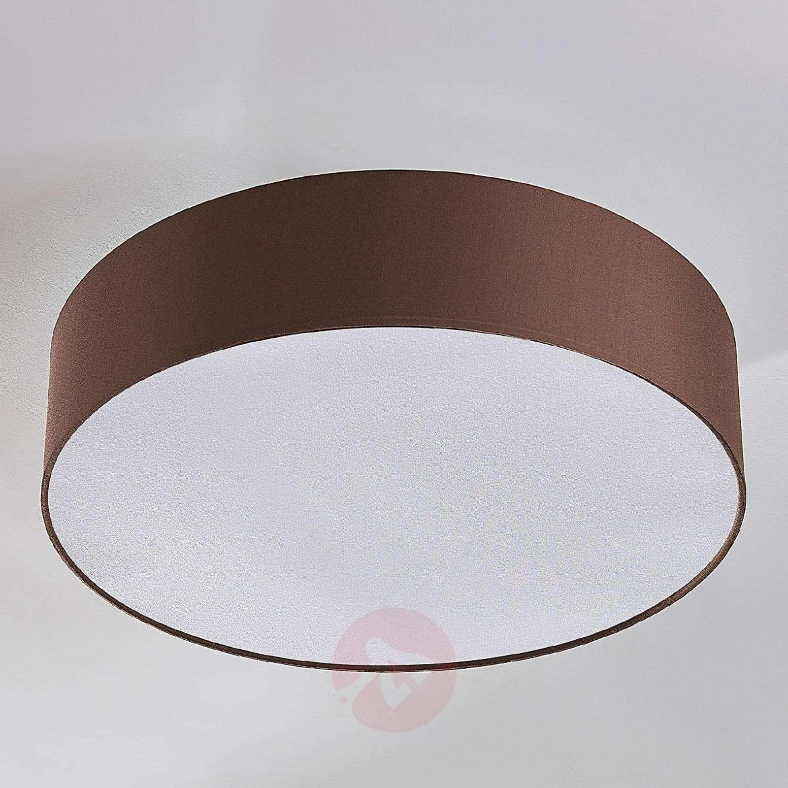 Kangaskattovalaisin Sebatin, E27-LED, vaaleanrusk.-9620331-01