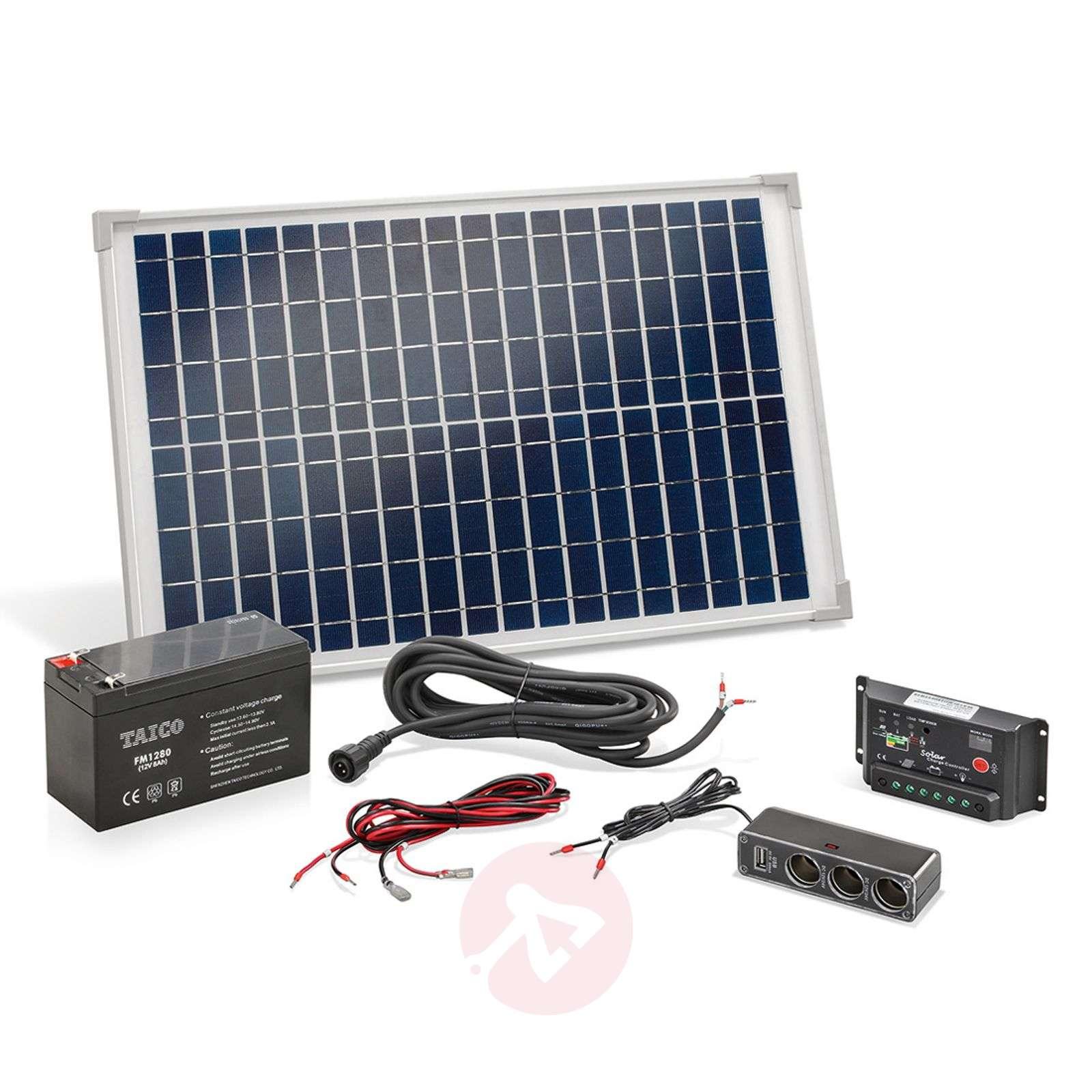 Kannettava aurinkoenergiajärjestelmä 20 W-3012531-01