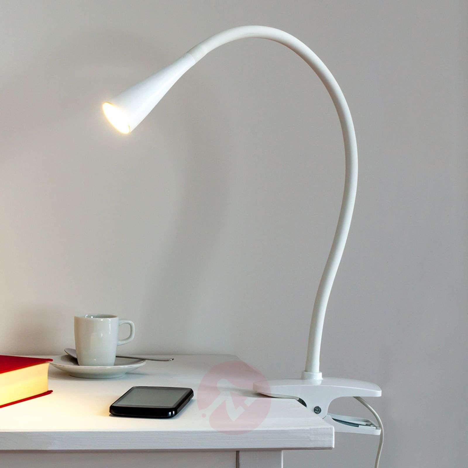 Kapea Baris-klipsivalaisin LED valkoinen-9643006-01
