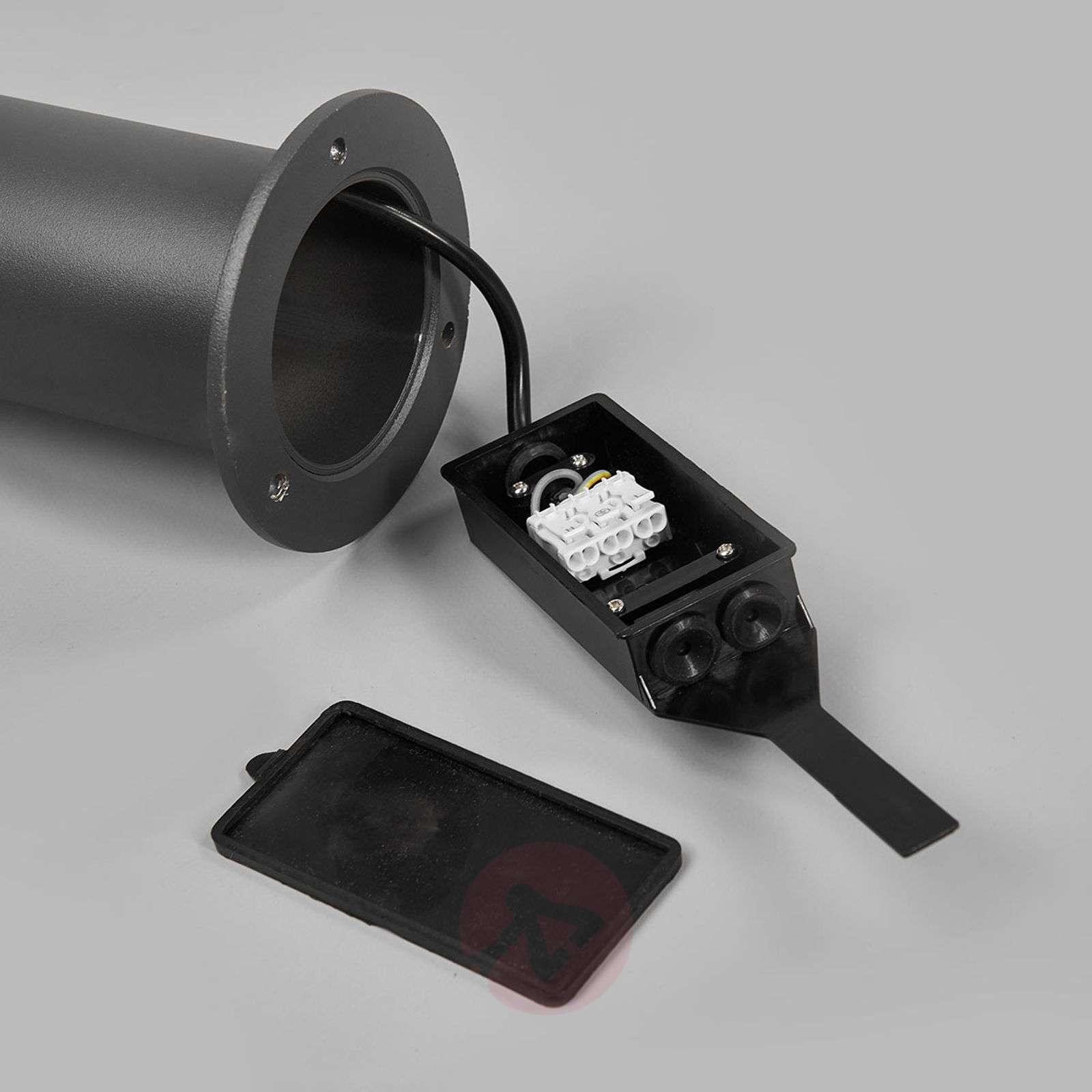 Kapea, moderni LED-pylväsvalaisin Sidny-9618116-02