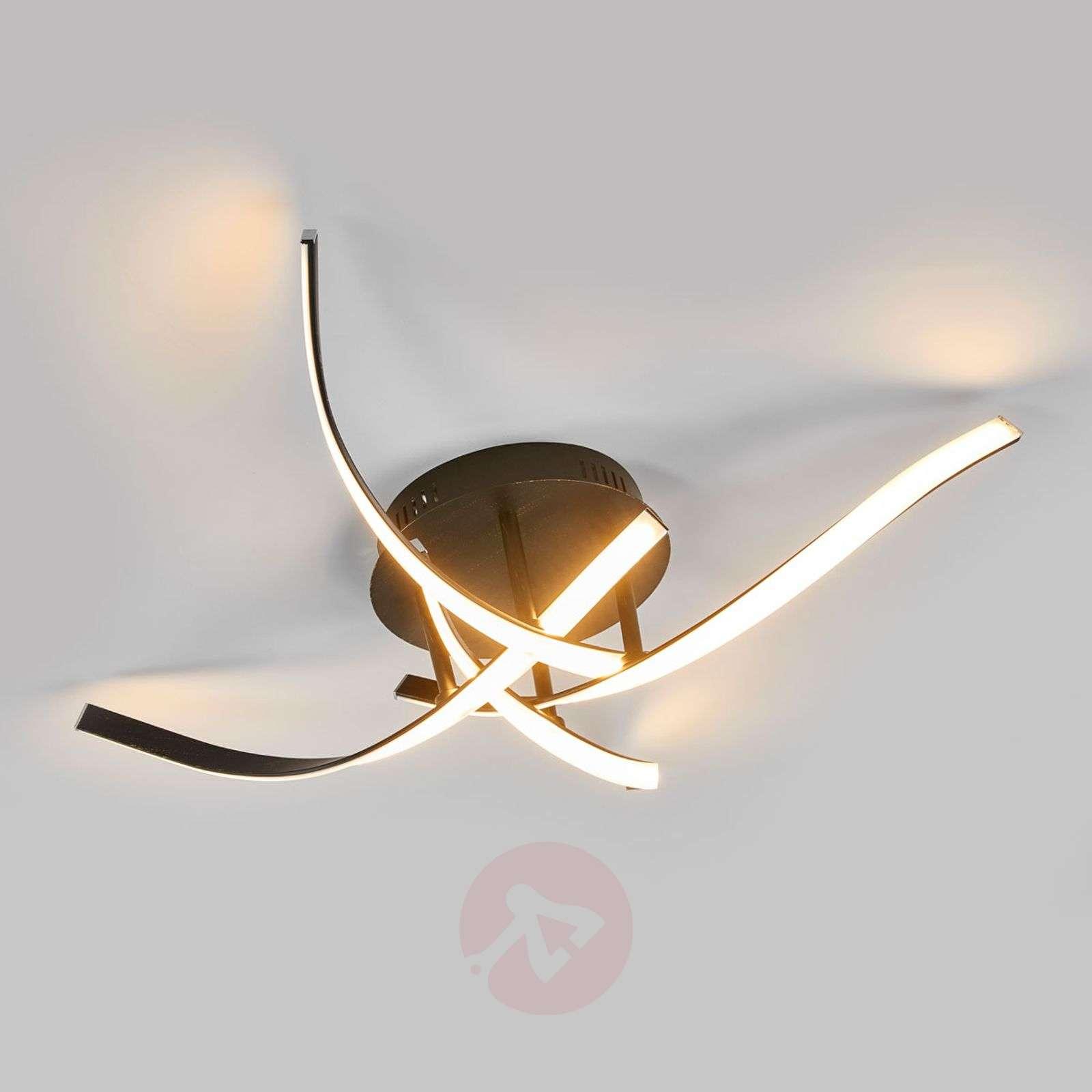 Katkaisijalla himmennettävä Milane-LED-kattolamppu-9985061-02