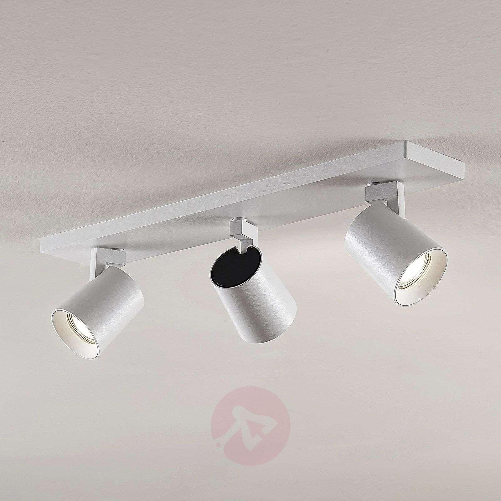 Kattokohdevalo Iavo säädettävä valkoinen 3 lamppua-9928003-01