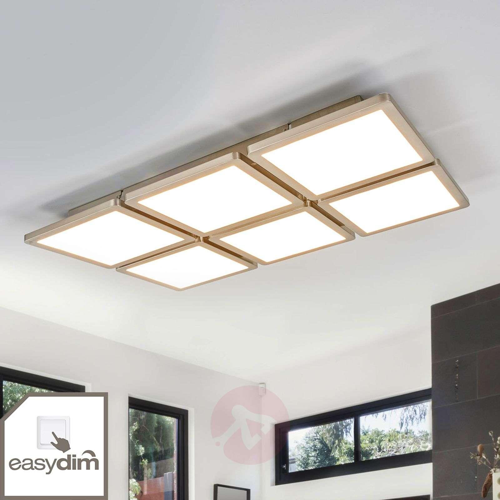 Kattovalaisin Aileen, 6-lamppuinen, Easydim-LEDit-1558101-01