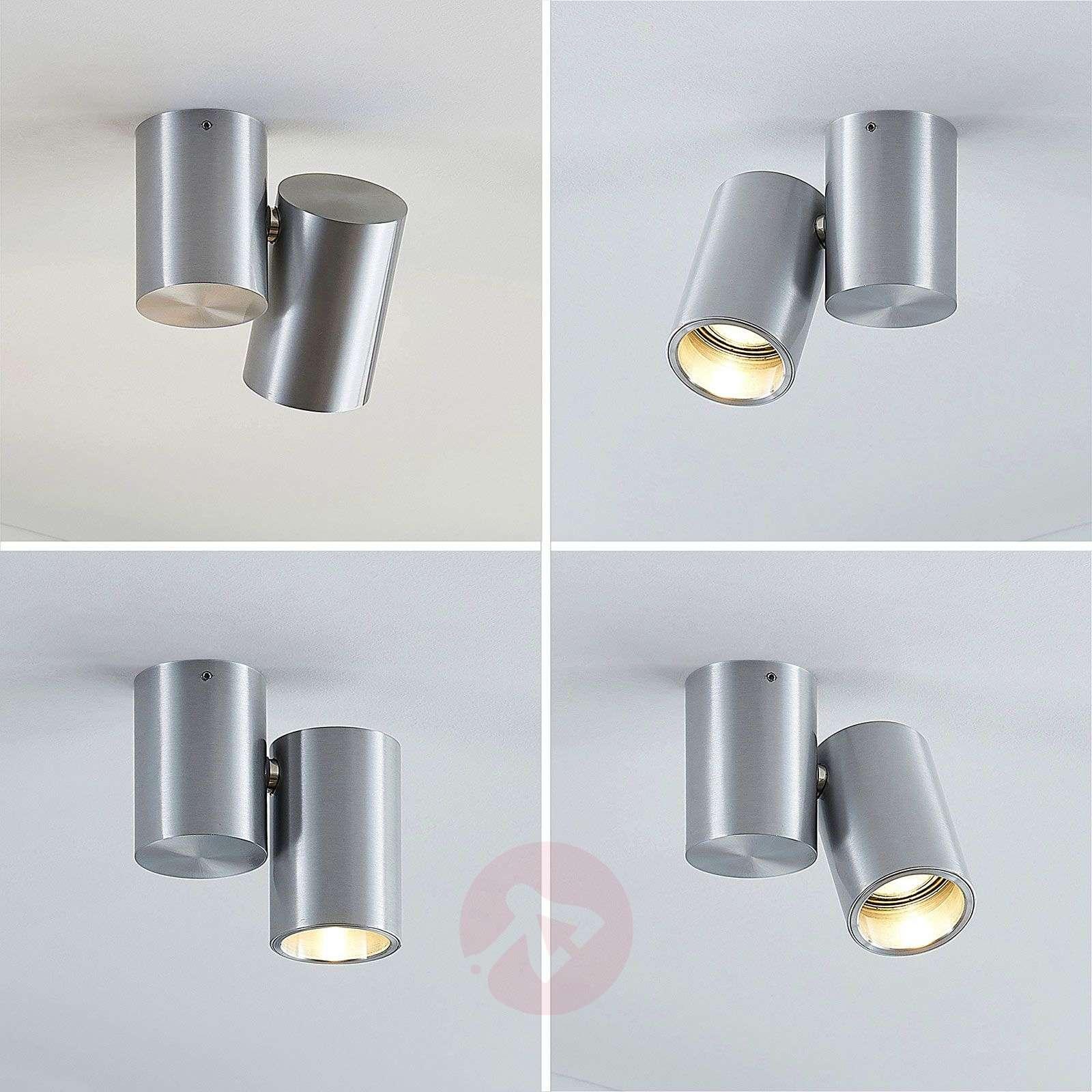 Kattovalaisin Gesina, 1-lamppuinen, alumiini-9624484-02