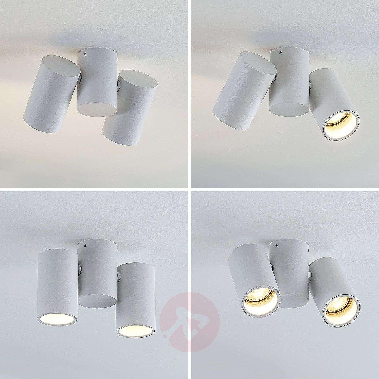 Kattovalaisin Gesina, 2-lamppuinen, valkoinen-9624485-02