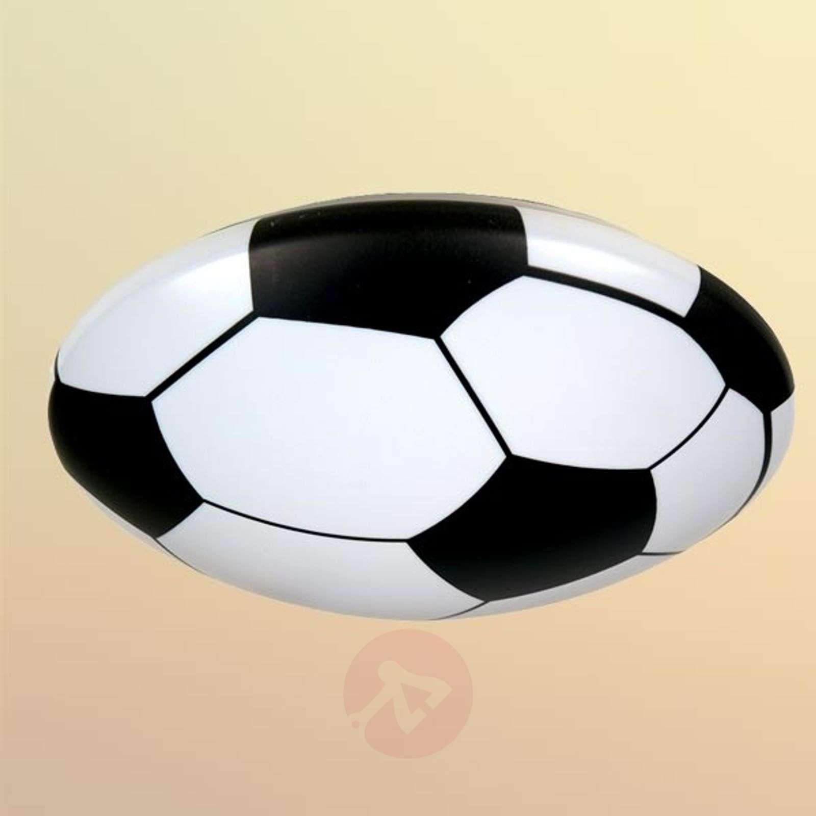 Kattovalaisin Jalkapallo, muovi-5400053-01