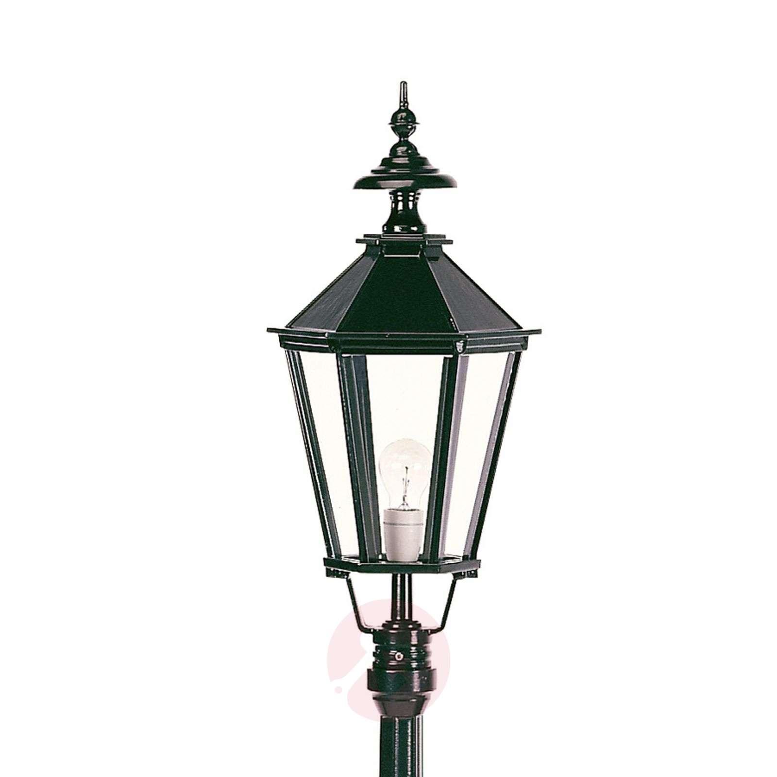 Kaunis Dublin-lyhtypylväs 1-lamppuinen-5515004X-03