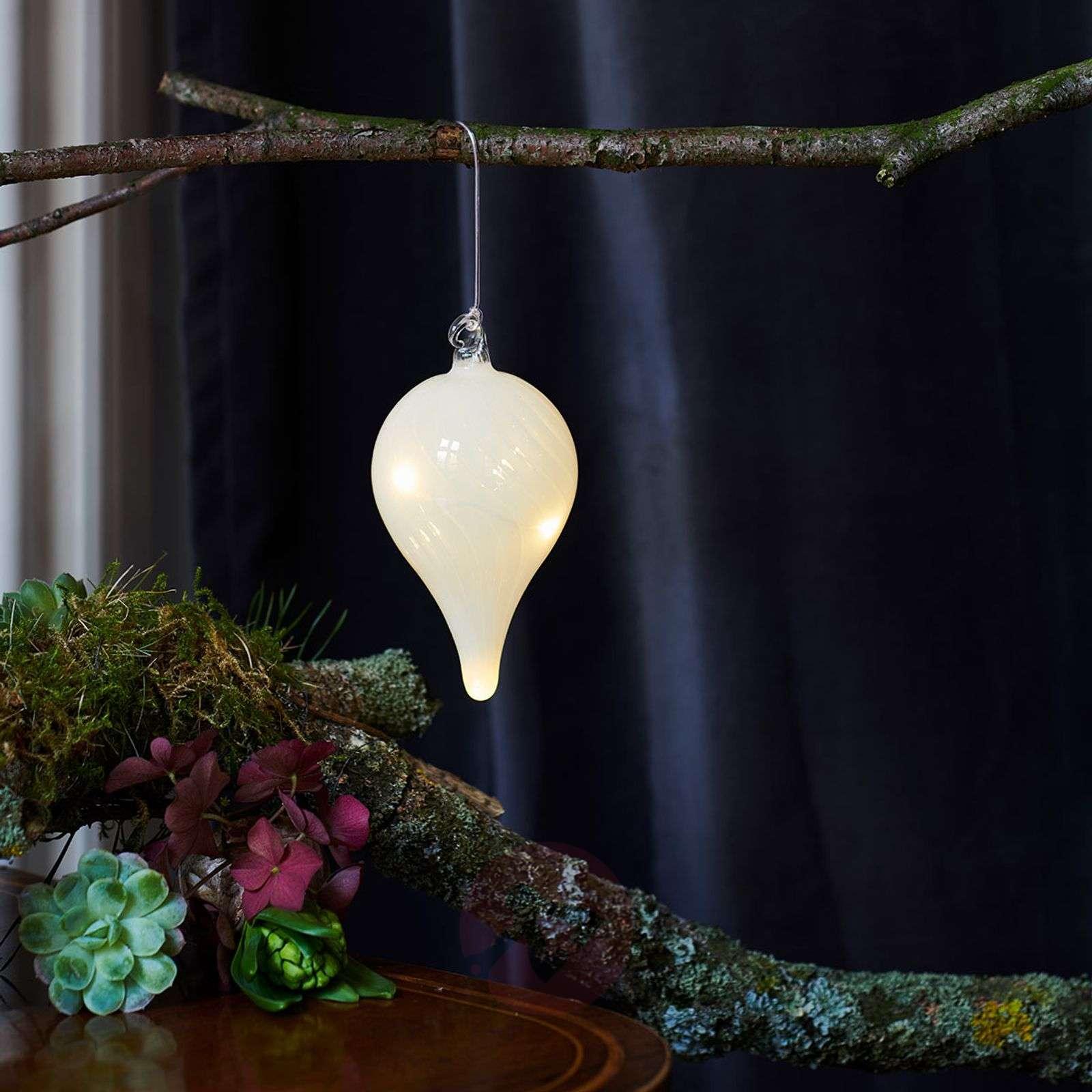Kaunis lasinen koristeriipus Heaven korkeus 10 cm-8577243-01