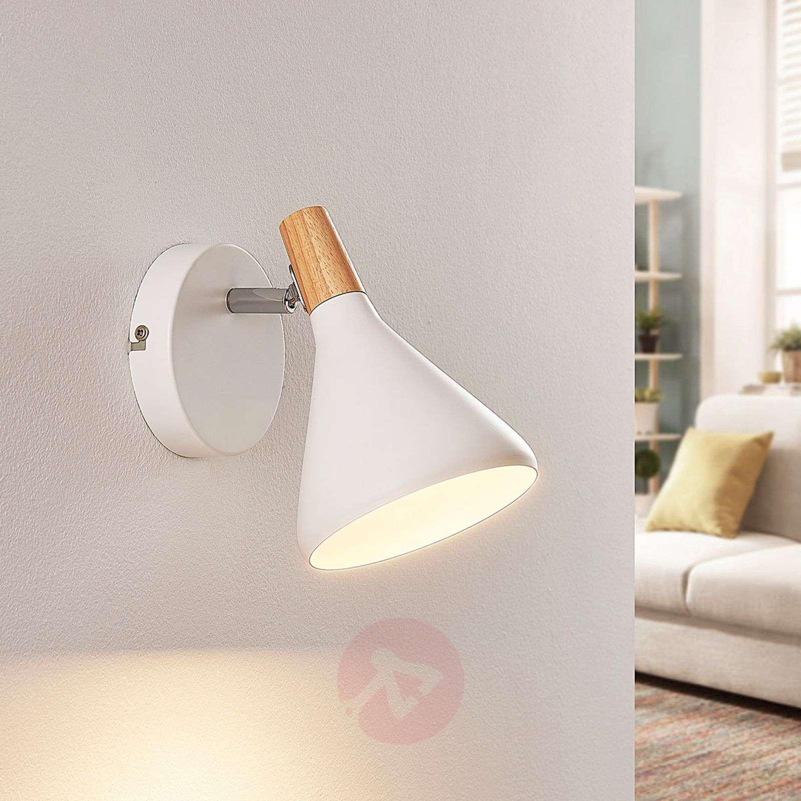 Kaunis LED-seinävalaisin Arina, valkoinen-9621804-02