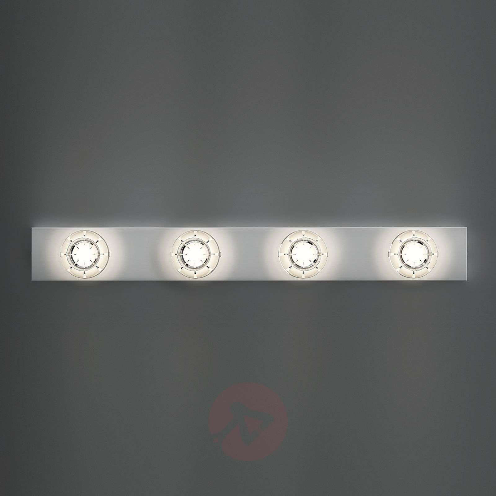 Kaunis LED-seinävalaisin Puns, kromi-6708019X-02