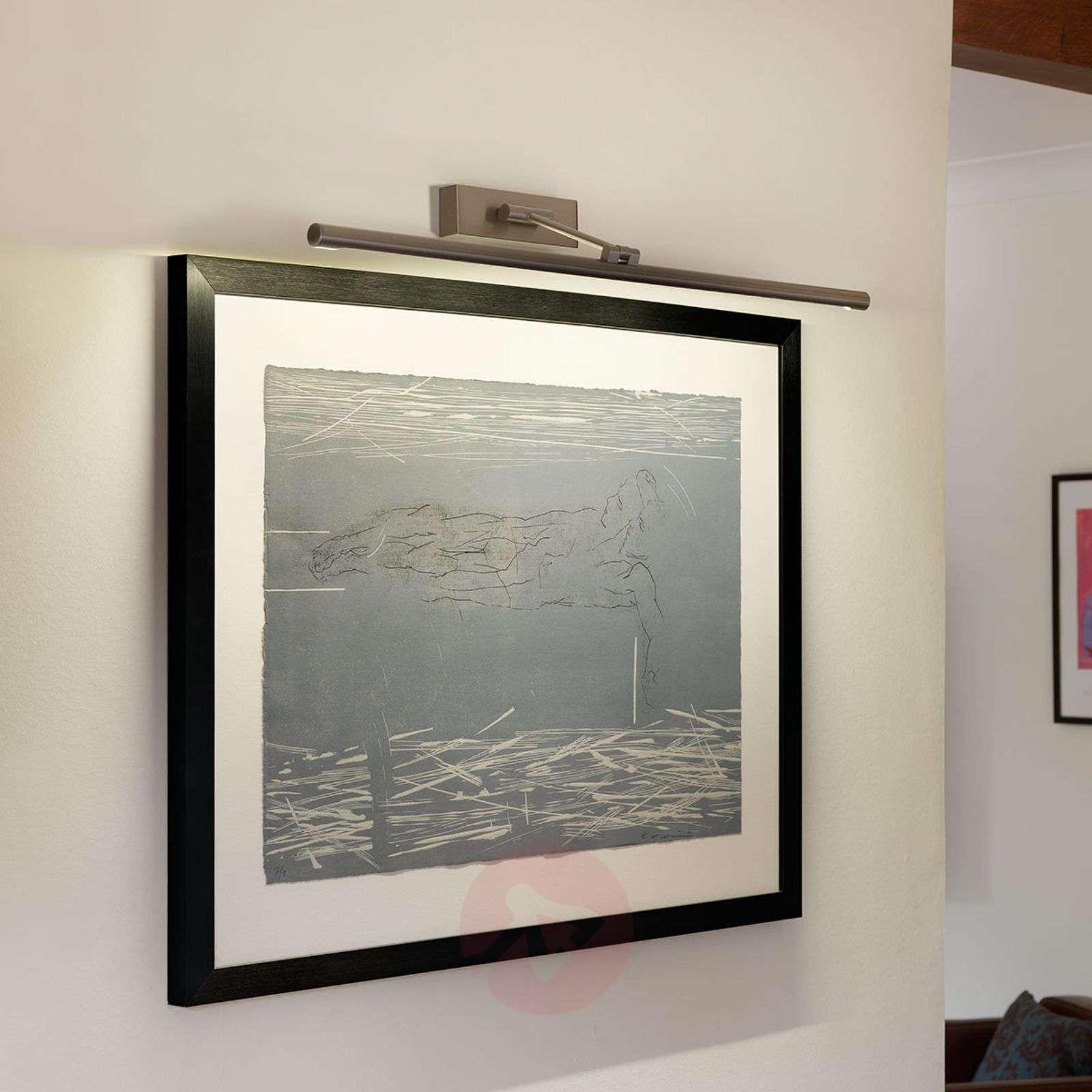 Kaunis LED-tauluvalaisin Goya 760, nikkeli-1020474-03