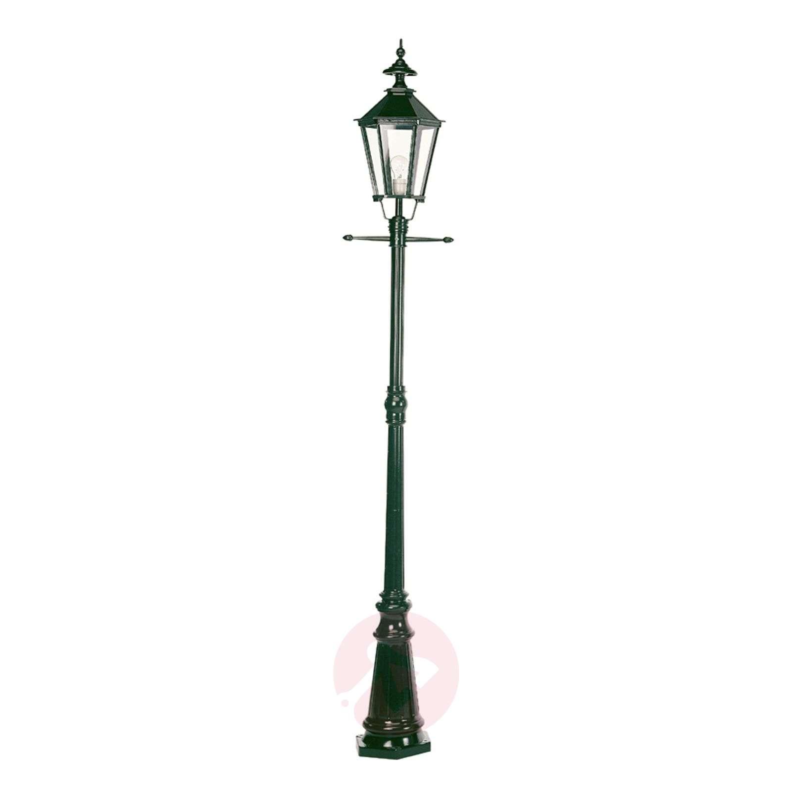 Kaunis Manchester-lyhtypylväs 1-lamppuinen vihreä-5515003-01