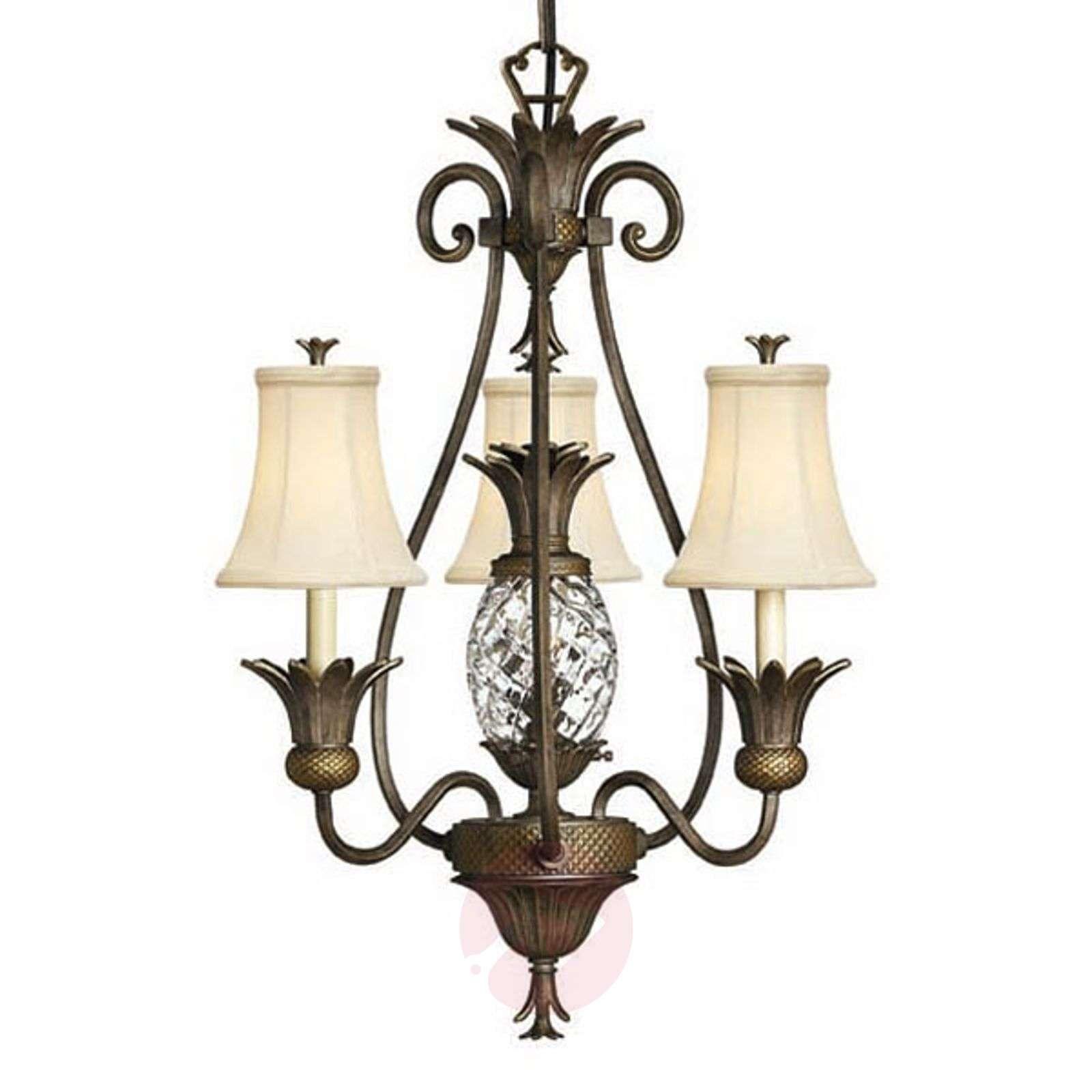 Kaunis Plantation-kattokruunu, 3 lamppua-3048259-01