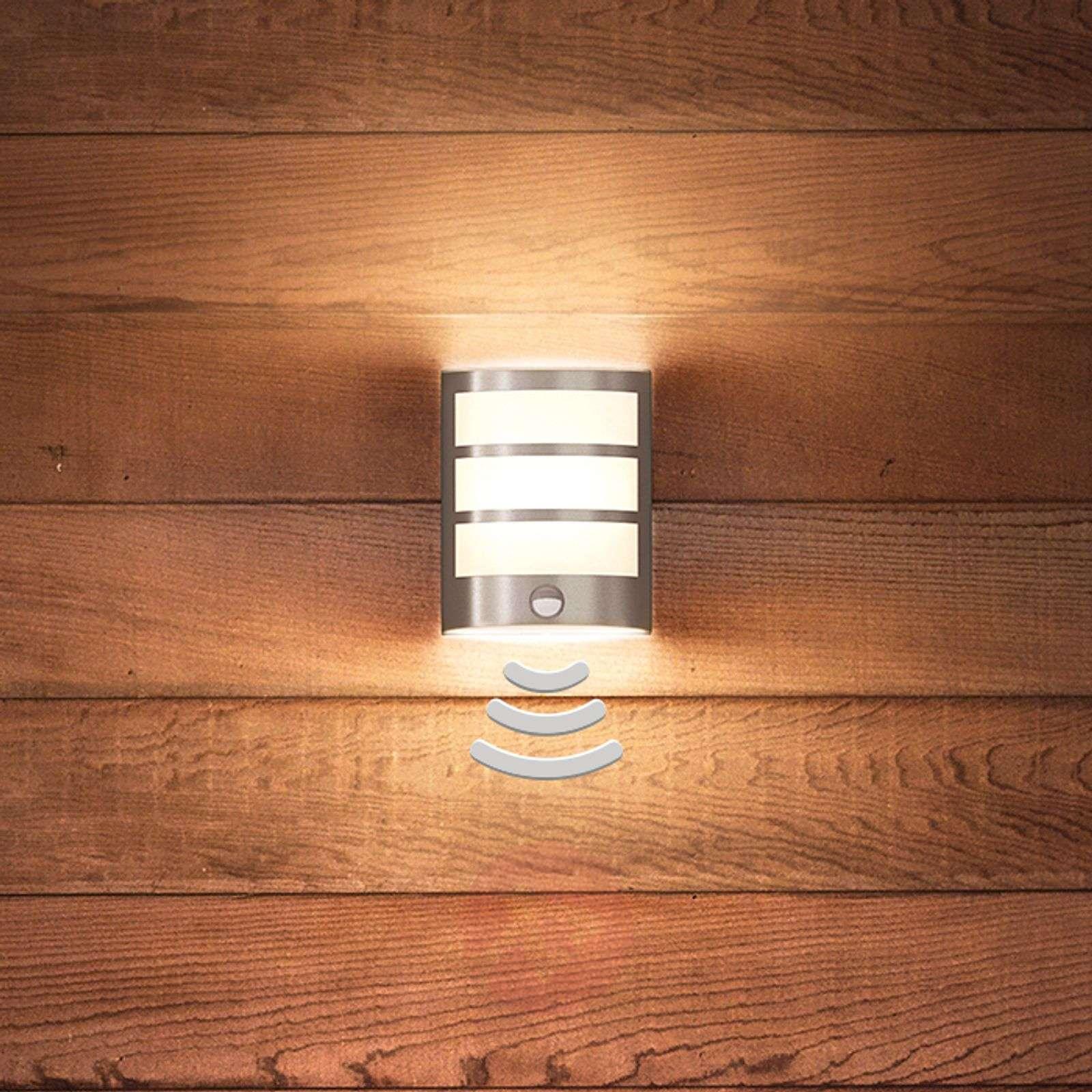 Kaunis Python-LED-seinävalaisin liiketunnistimella-7531819-01