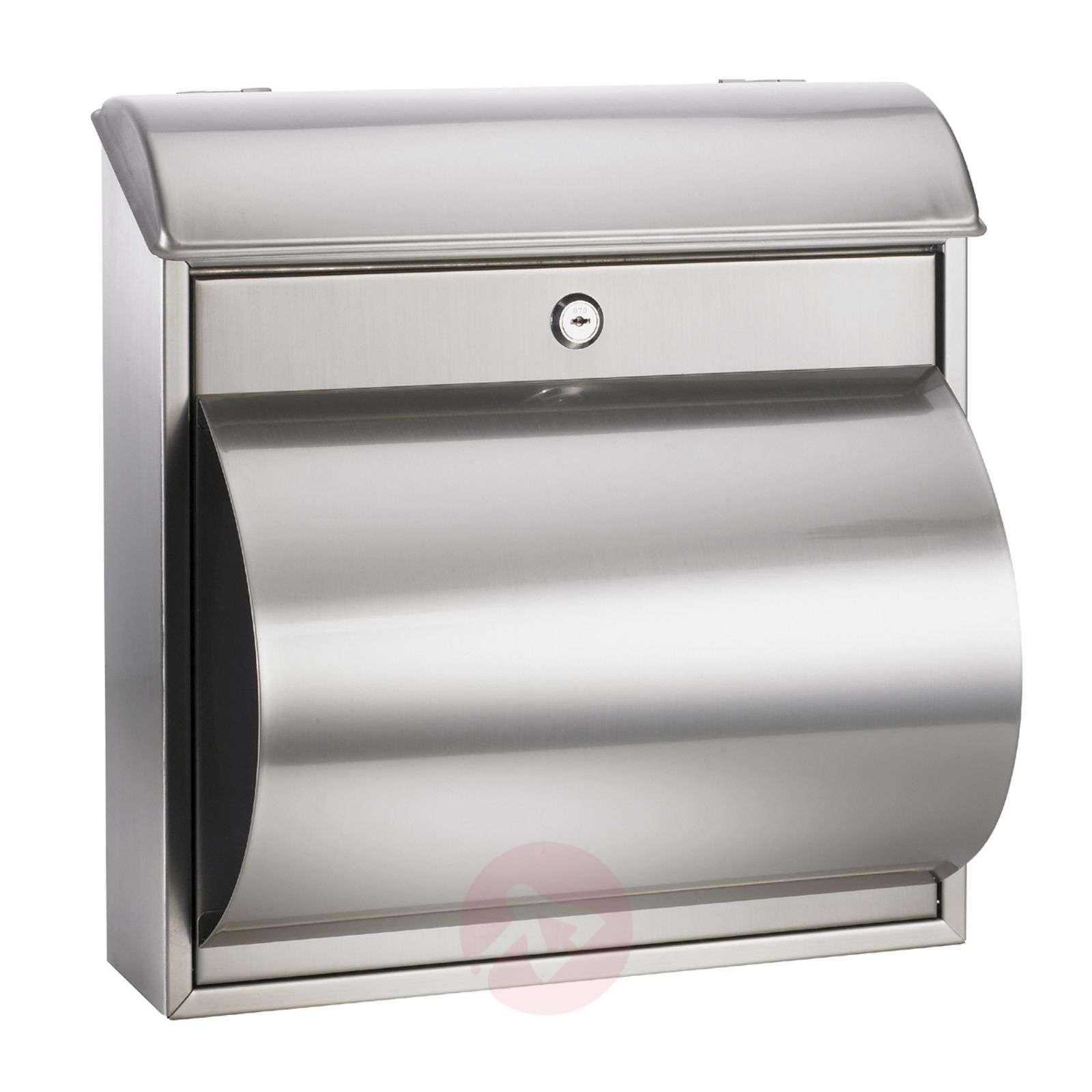 Kaunis Rain-postilaatikko, jossa on lehtilaatikko-1003097-01