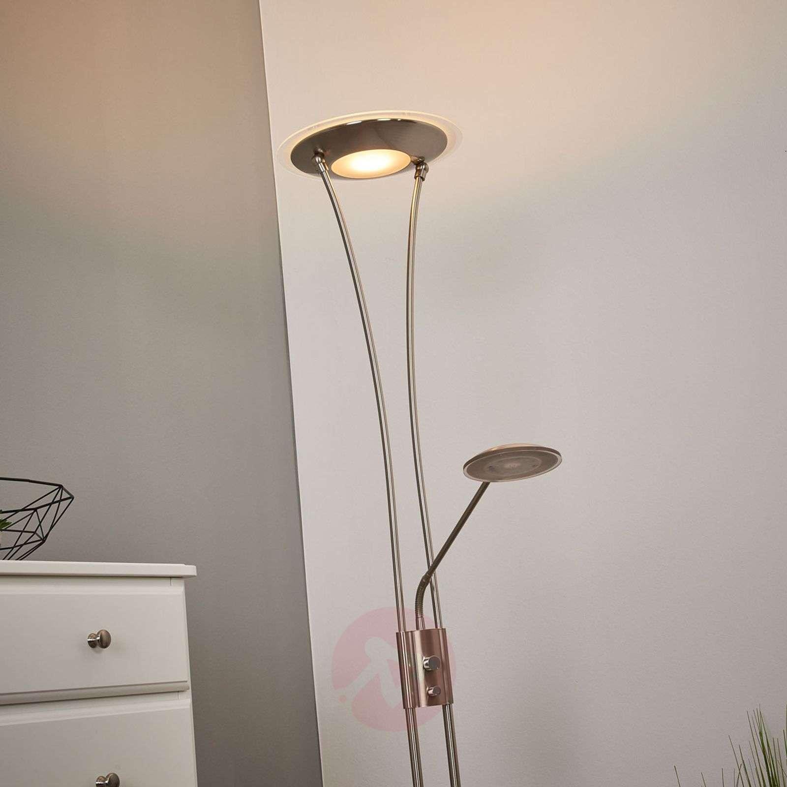 Kaunis ylössuunnattu LED-valo Eda himmentimellä-9945227-01