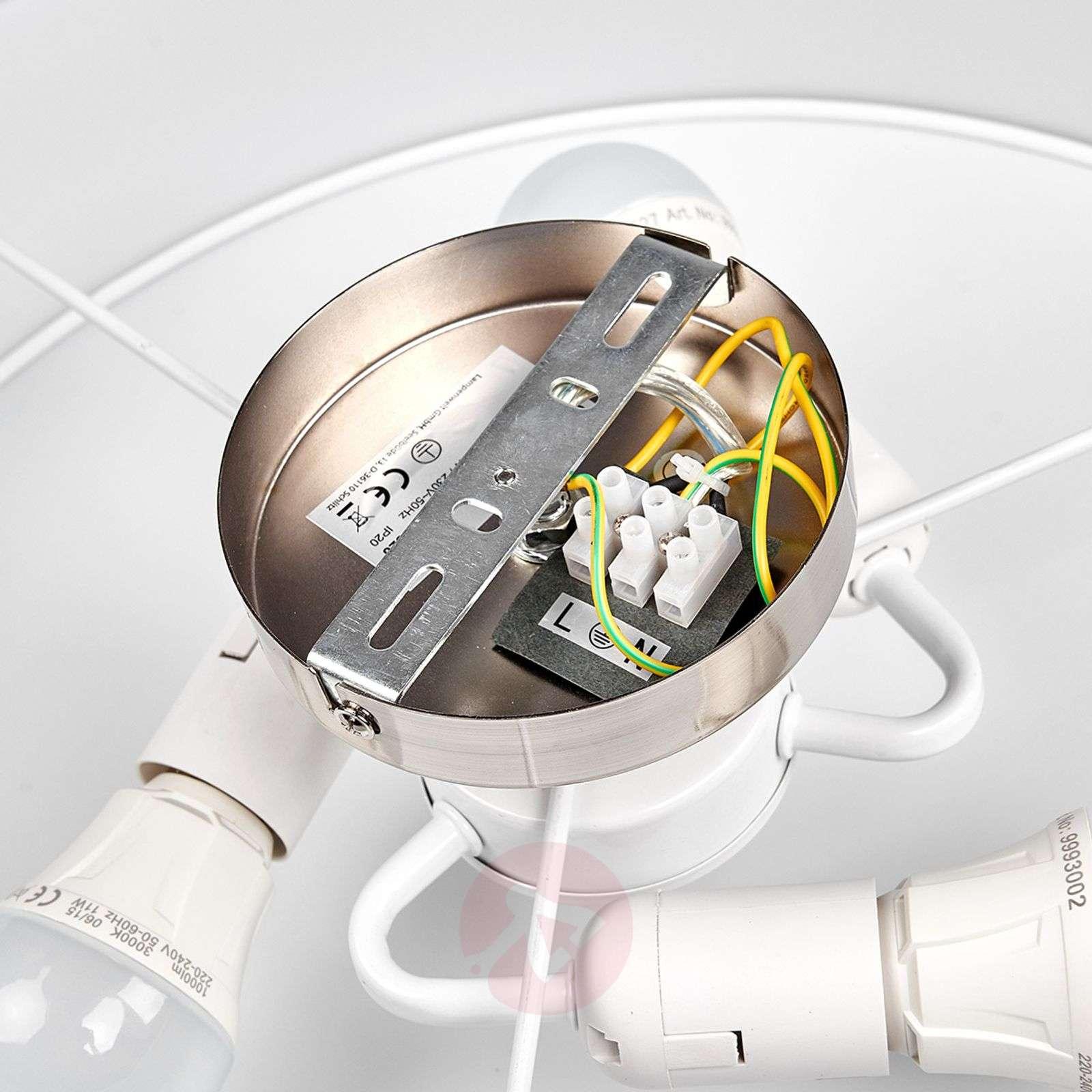 Kermanvärinen LED-kattovalaisin Sebatin, kangasta-9620328-09