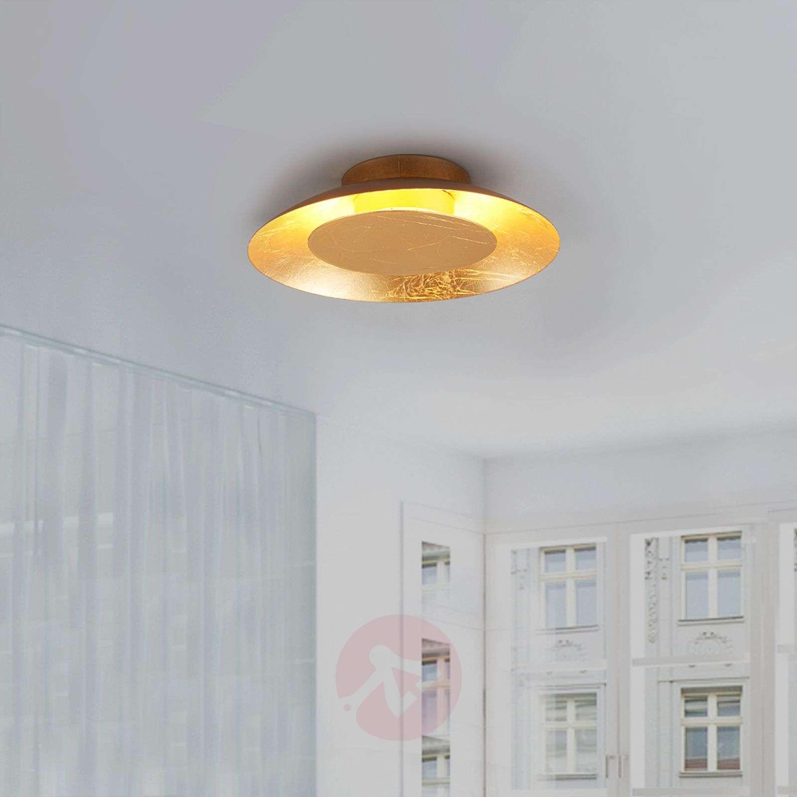 Keti kullanvärinen LED-kattovalaisin-9625045-01