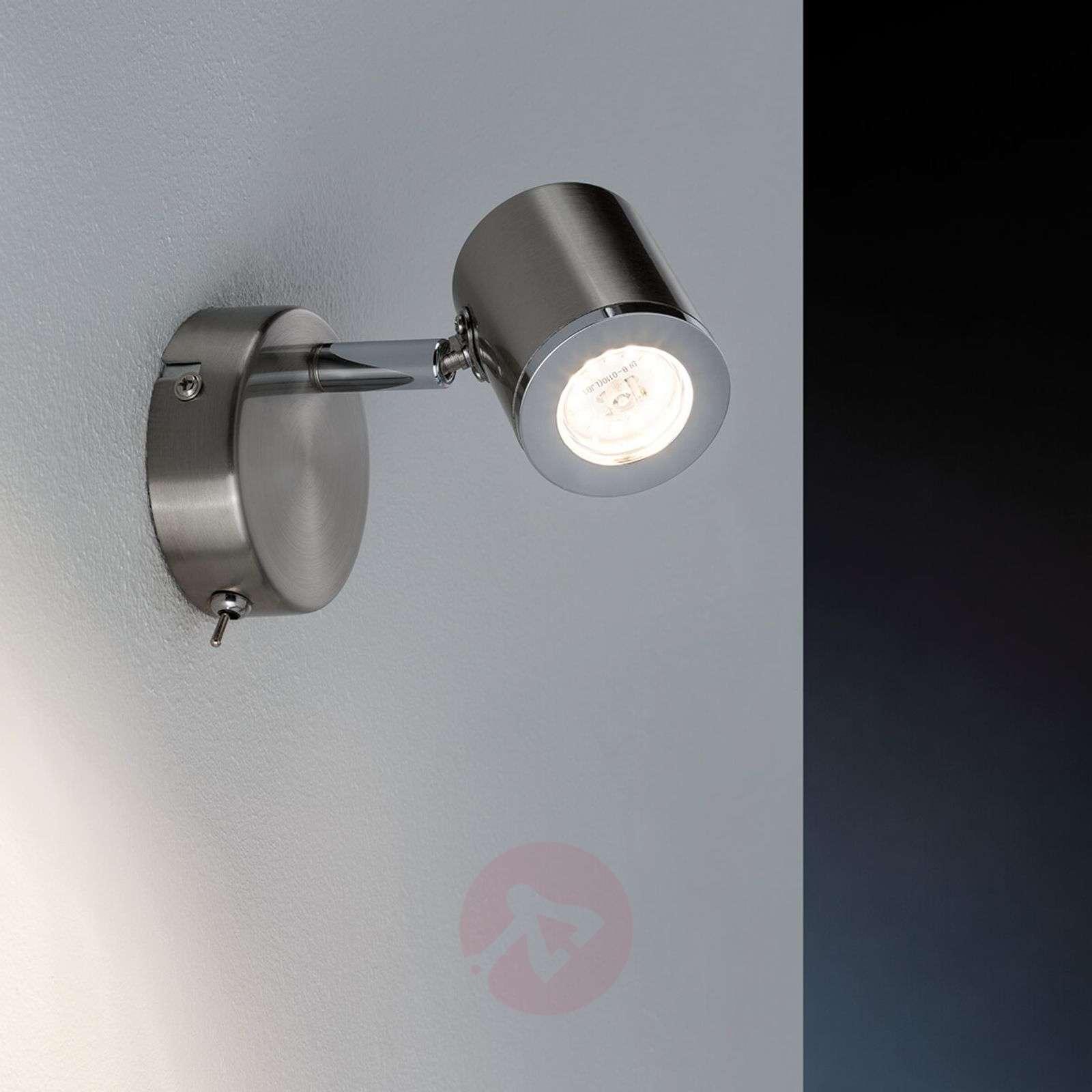 Kiertyvä ja kääntyvä LED-seinäspottivalo Tumbler-7600859-01