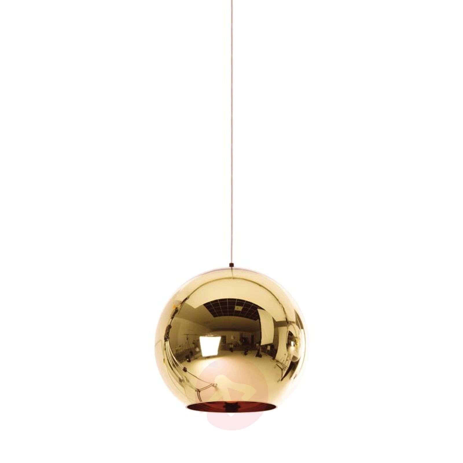 Kiiltävä Copper Bronze-riippuvalaisin-9043021X-08