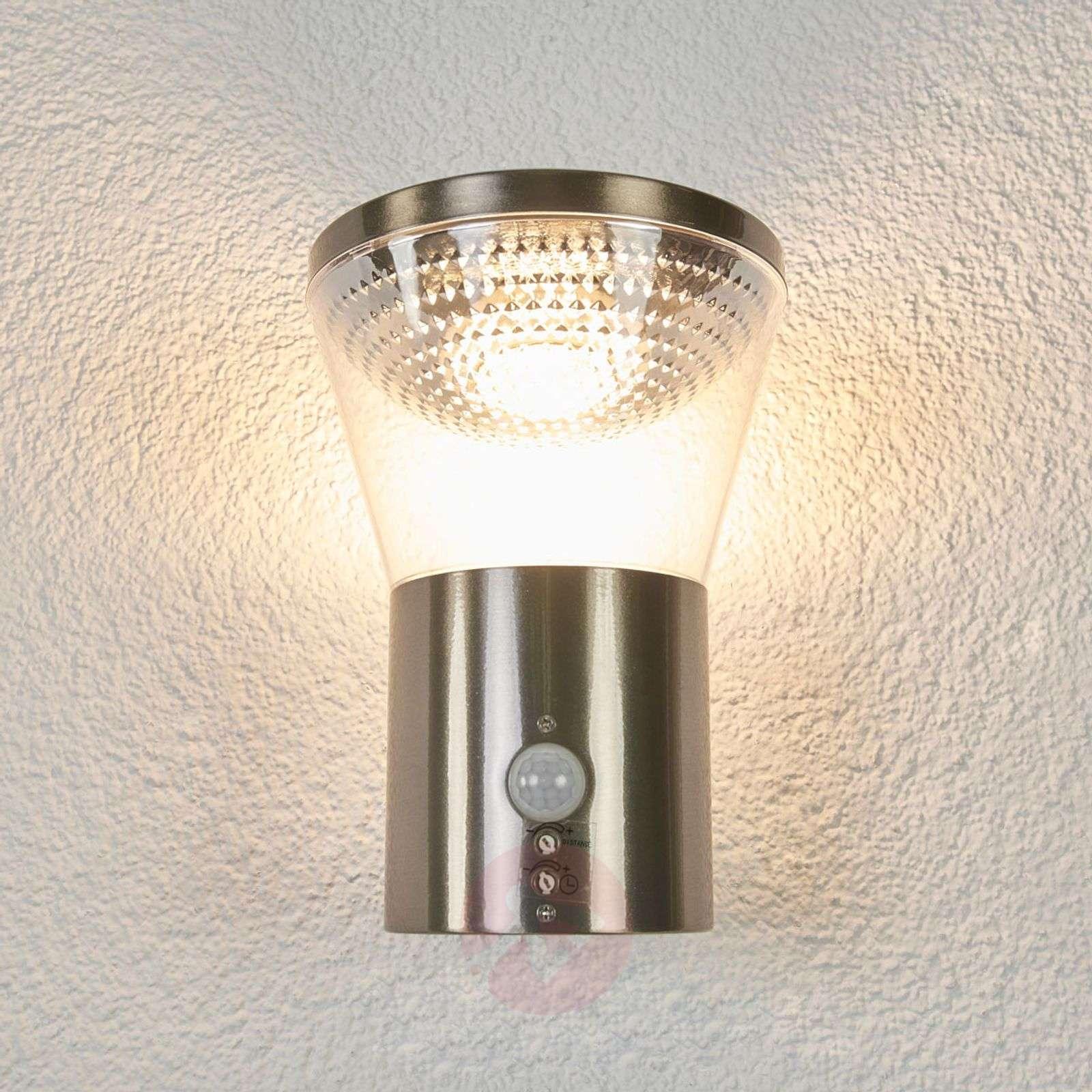 Kiki-LED-ulkoseinävalaisin liiketunnistimella-9988115-01