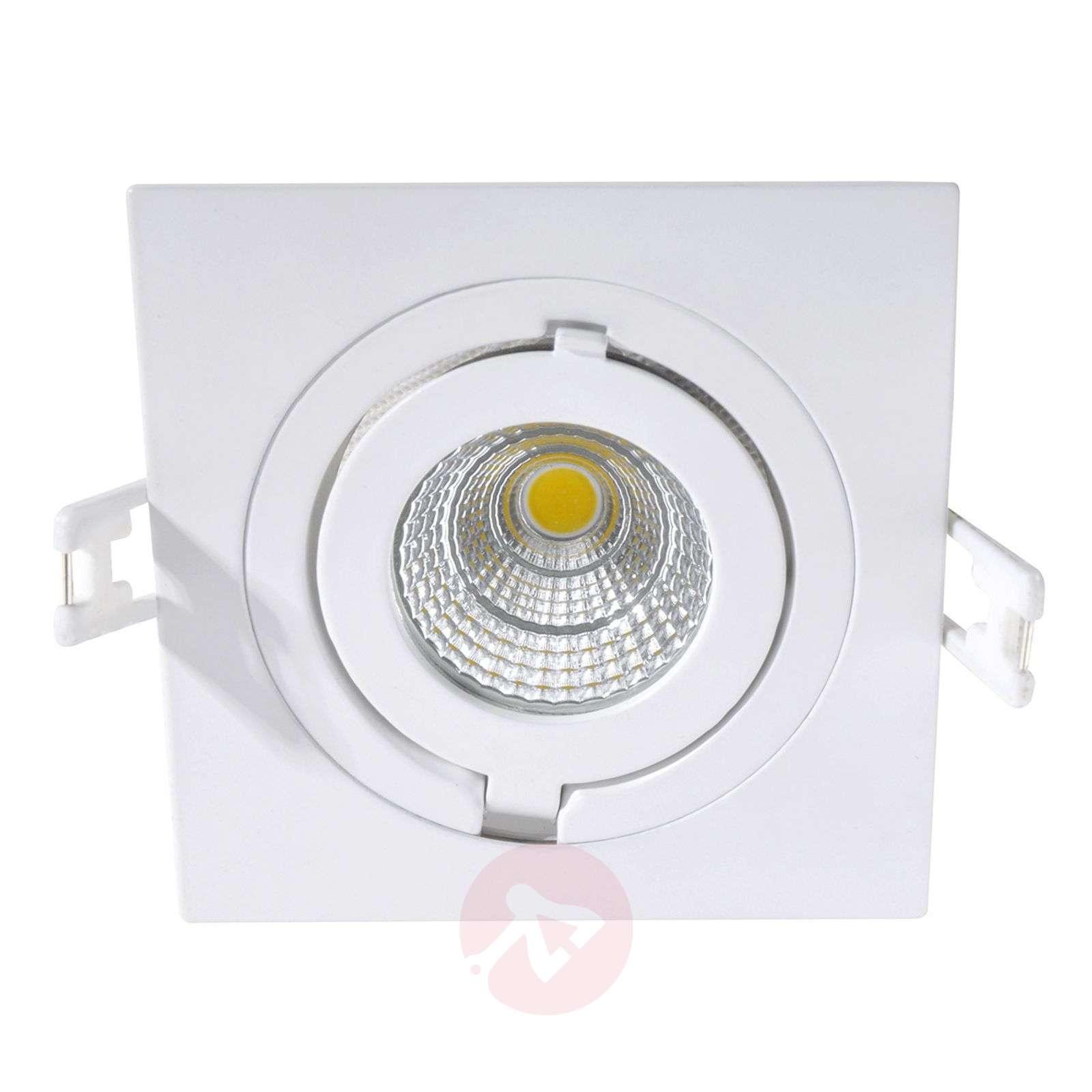 Kirkas Como-LED-uppokohdevalo, neliskulmainen-3006246-01