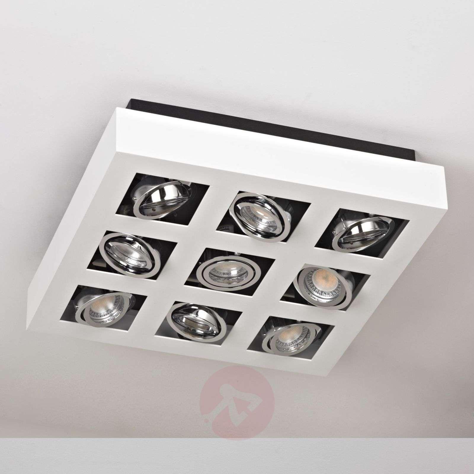 Kirkas Vince LED-kattovalaisin, 9-lamppuinen-9620463-01