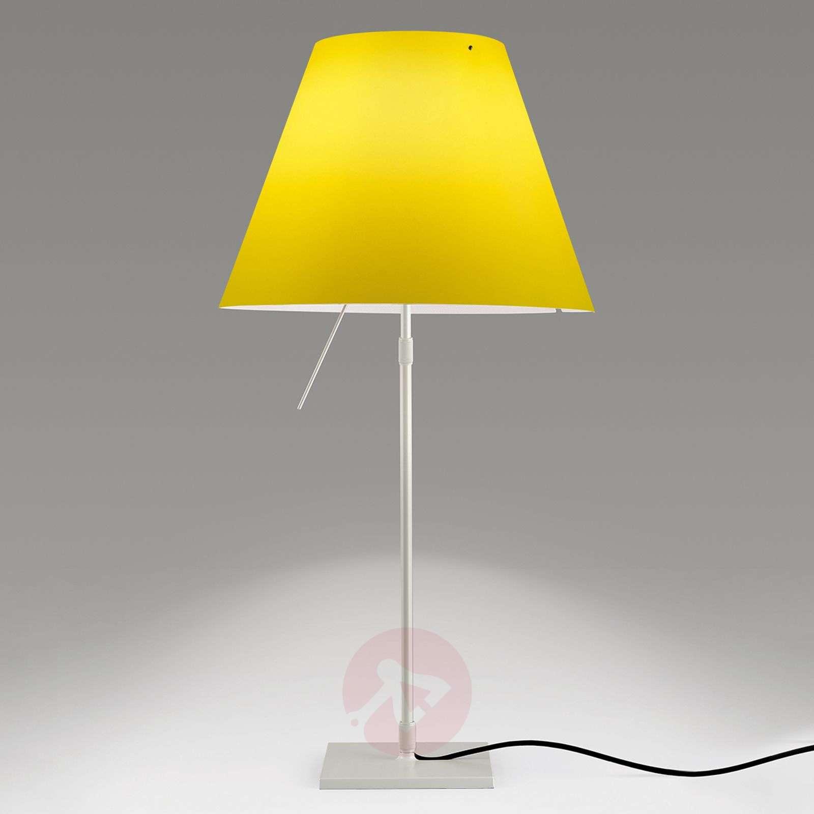 Kirkkaan keltainen LED-pöytävalaisin Costanza-6030165-01